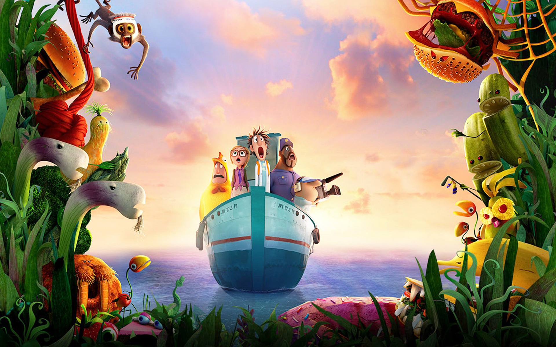 Cloudy with a Chance of Meatballs 2 Movie 2220.81 Kb