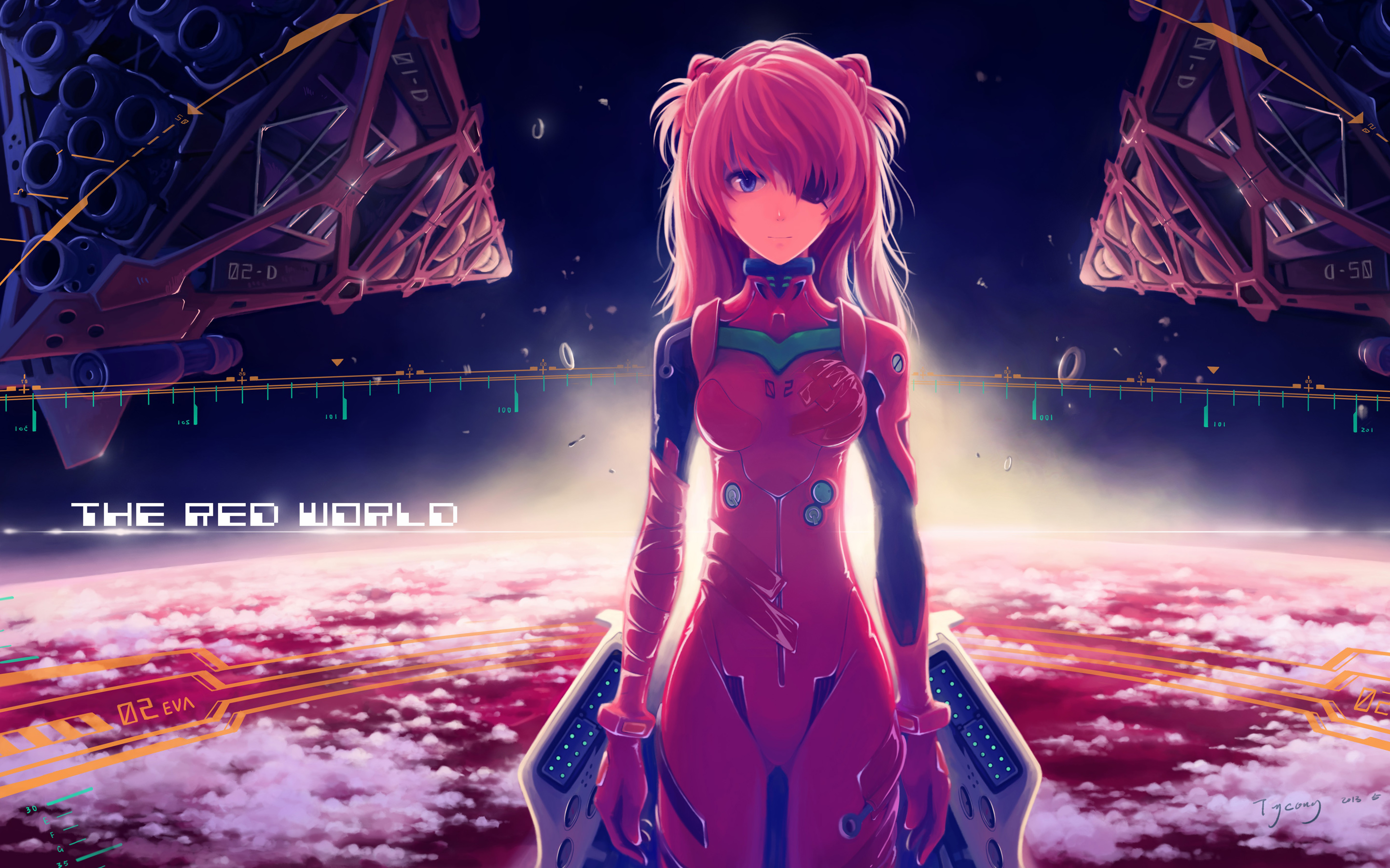 Asuka Langley Soryu Anime Girl
