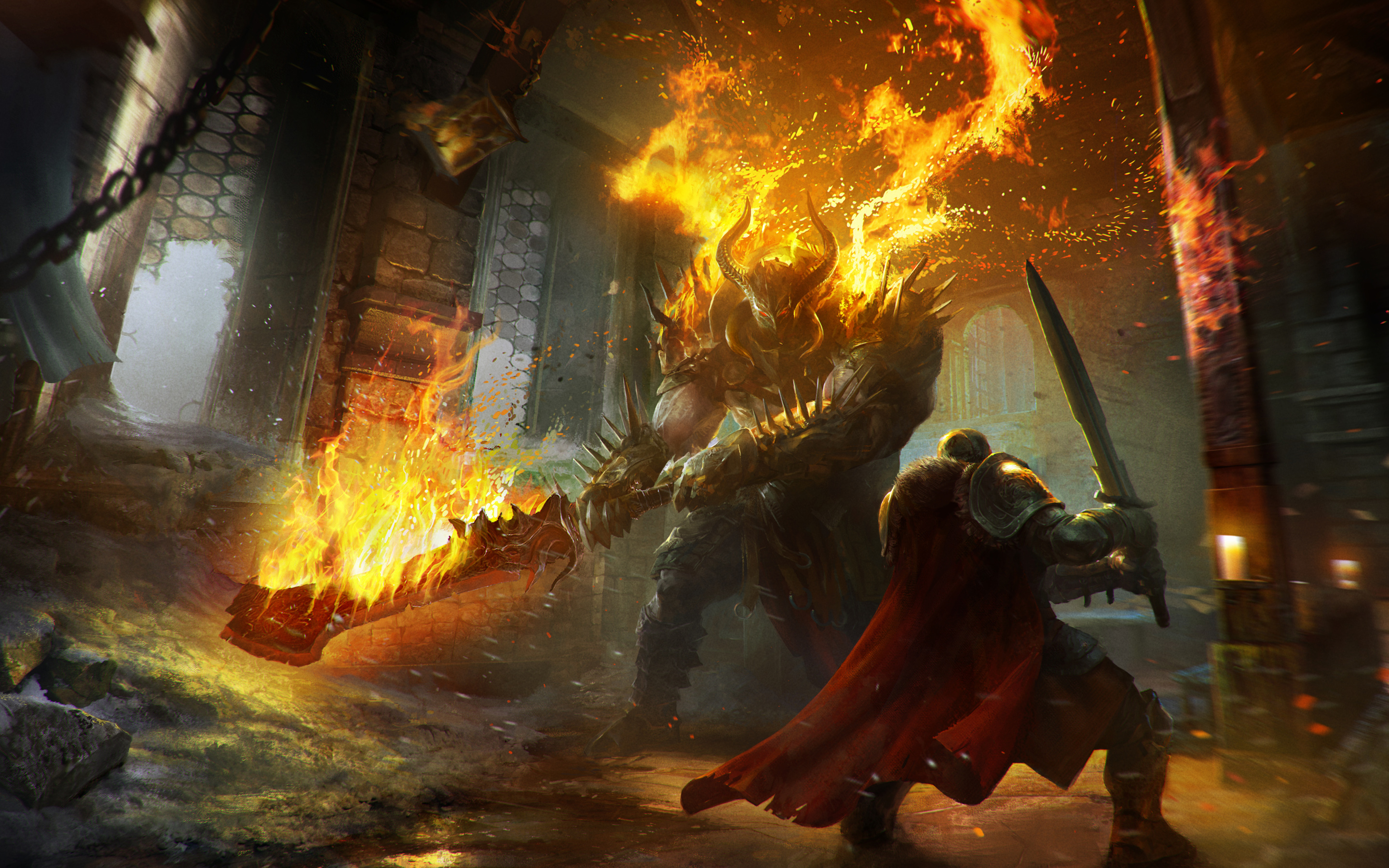 Lords of the Fallen Game Concept