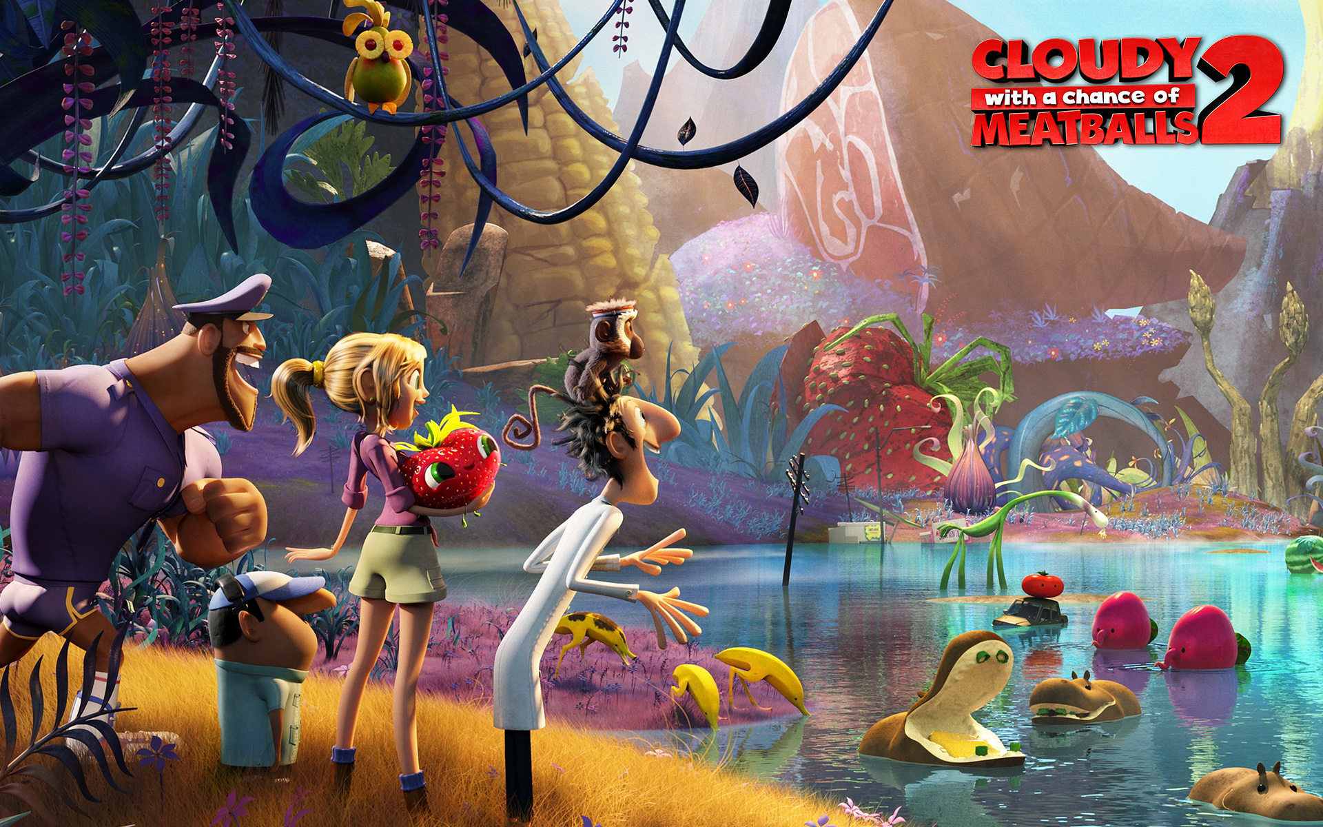 Cloudy with a Chance of Meatballs 2 2220.81 Kb