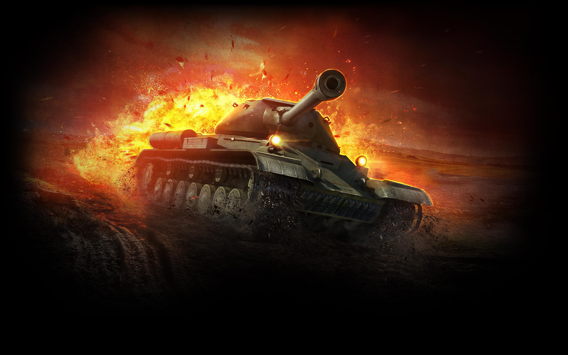 Heavy Tank IS 4 World of Tanks 873.2 Kb