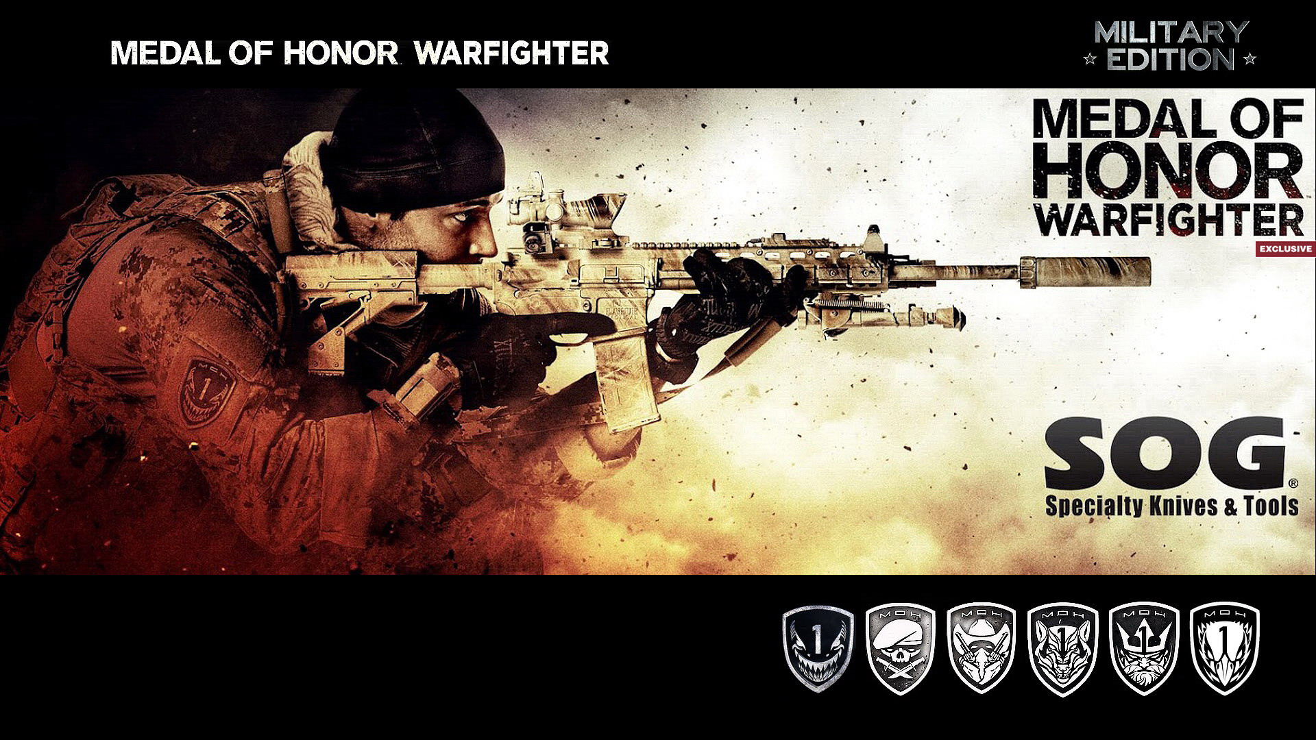 Medal of Honor Warfighter Military Edition 5378.88 Kb
