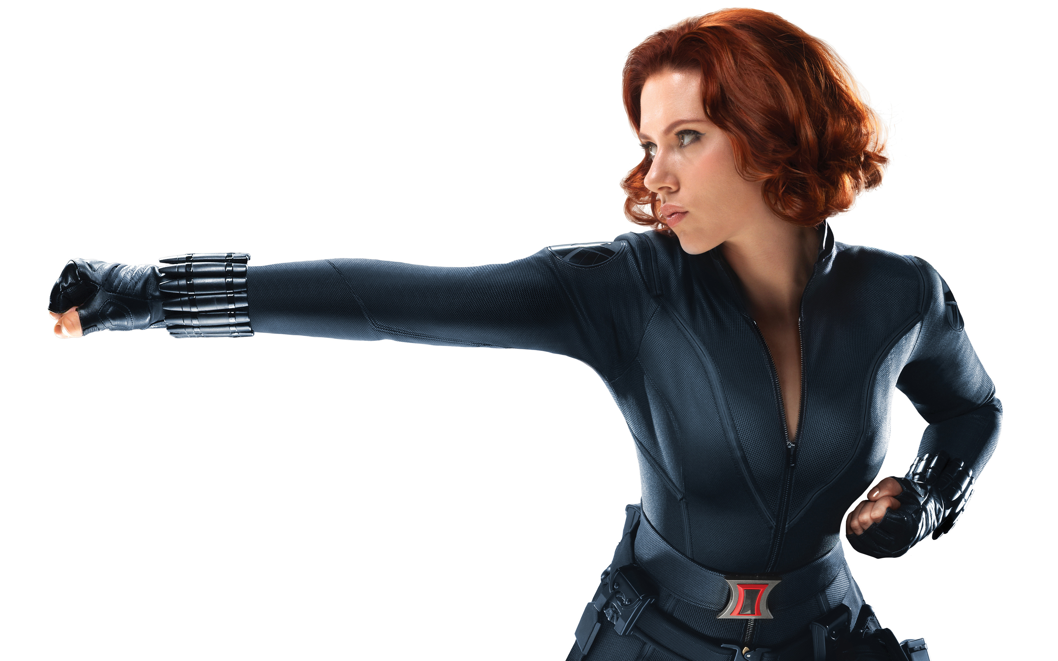 Scarlett Johansson as Black Widow in Avengers 963.95 Kb