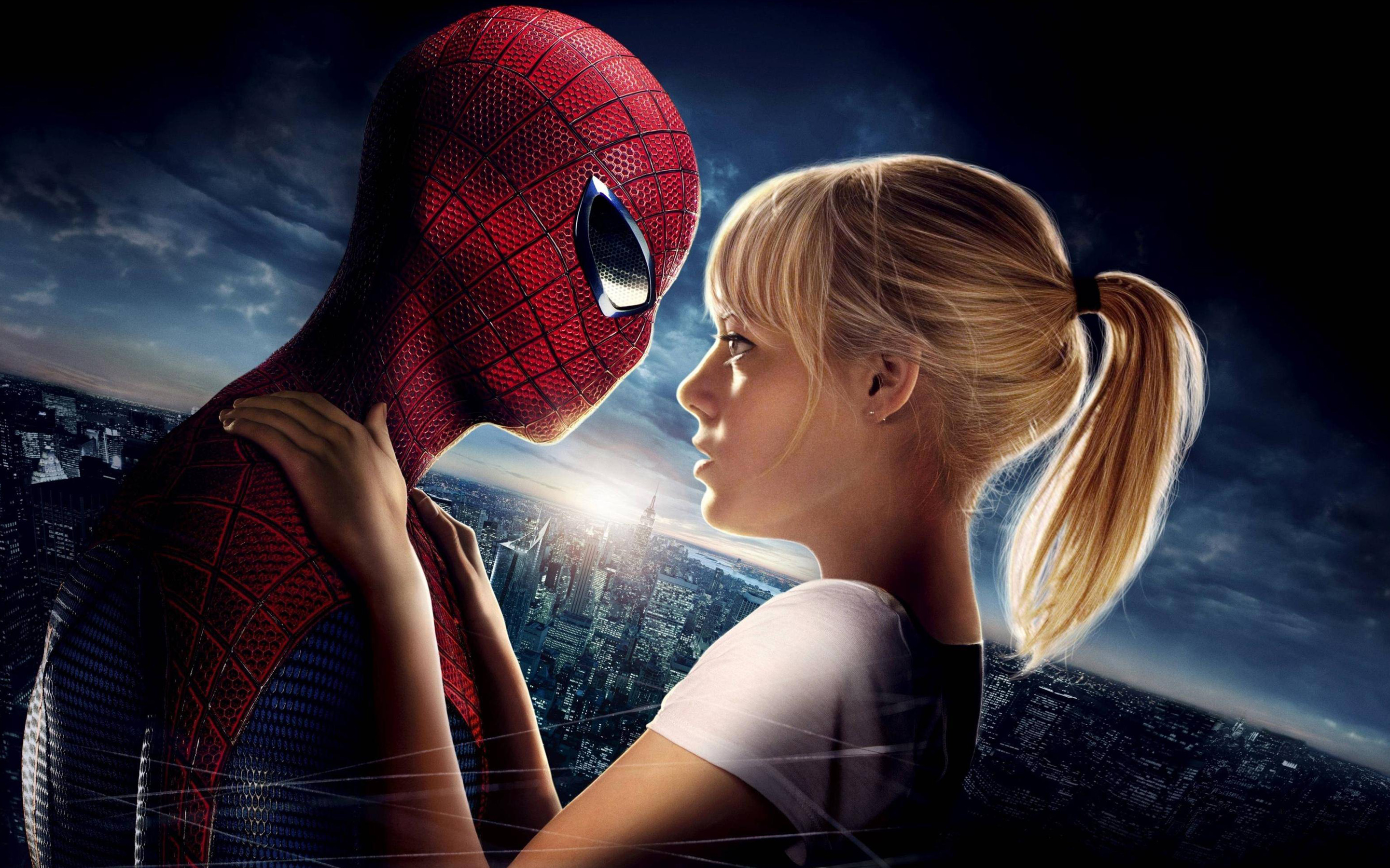 Amazing Spider Man Emma Stone 886.34 Kb