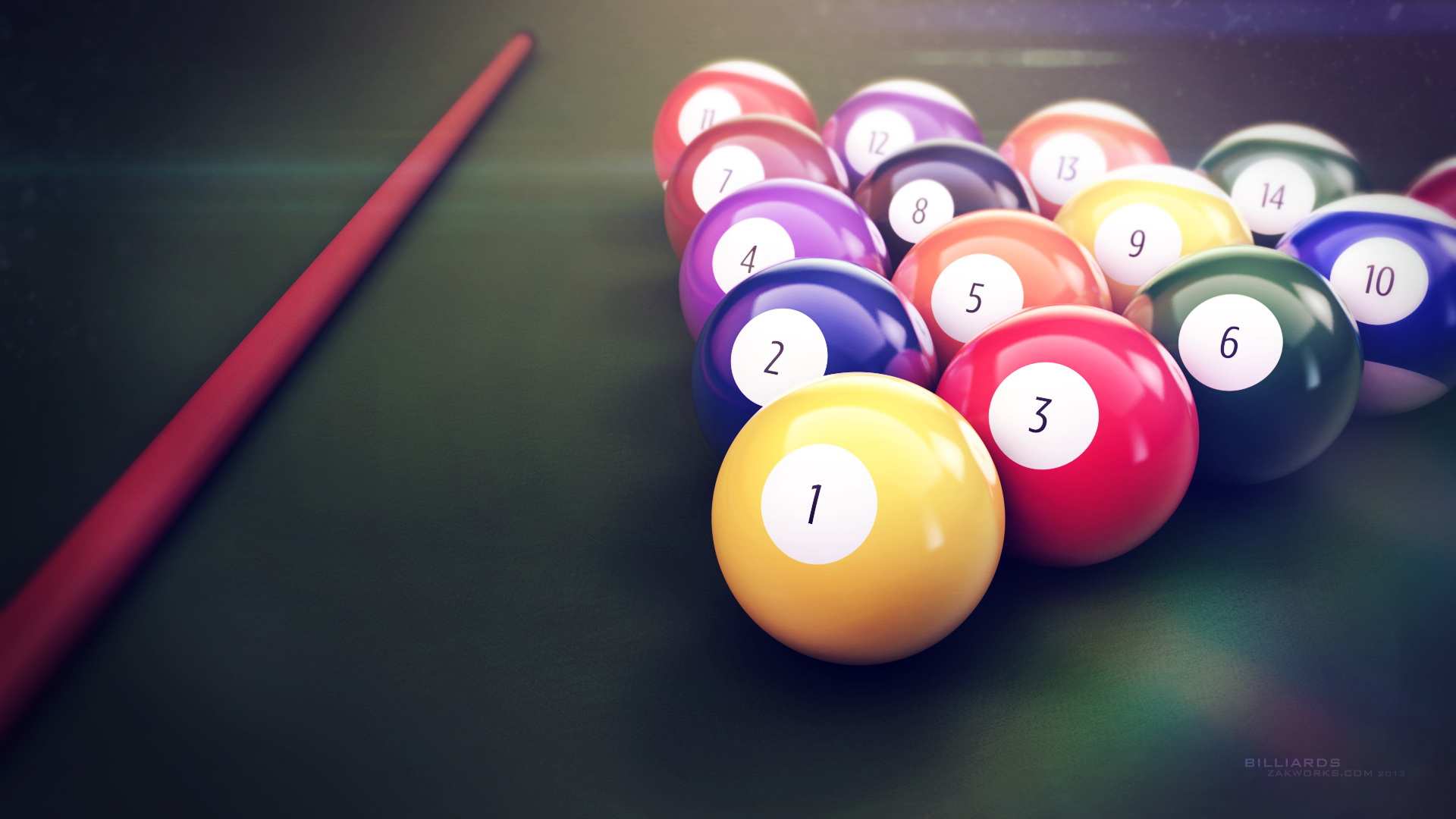 Billiards 96.41 Kb