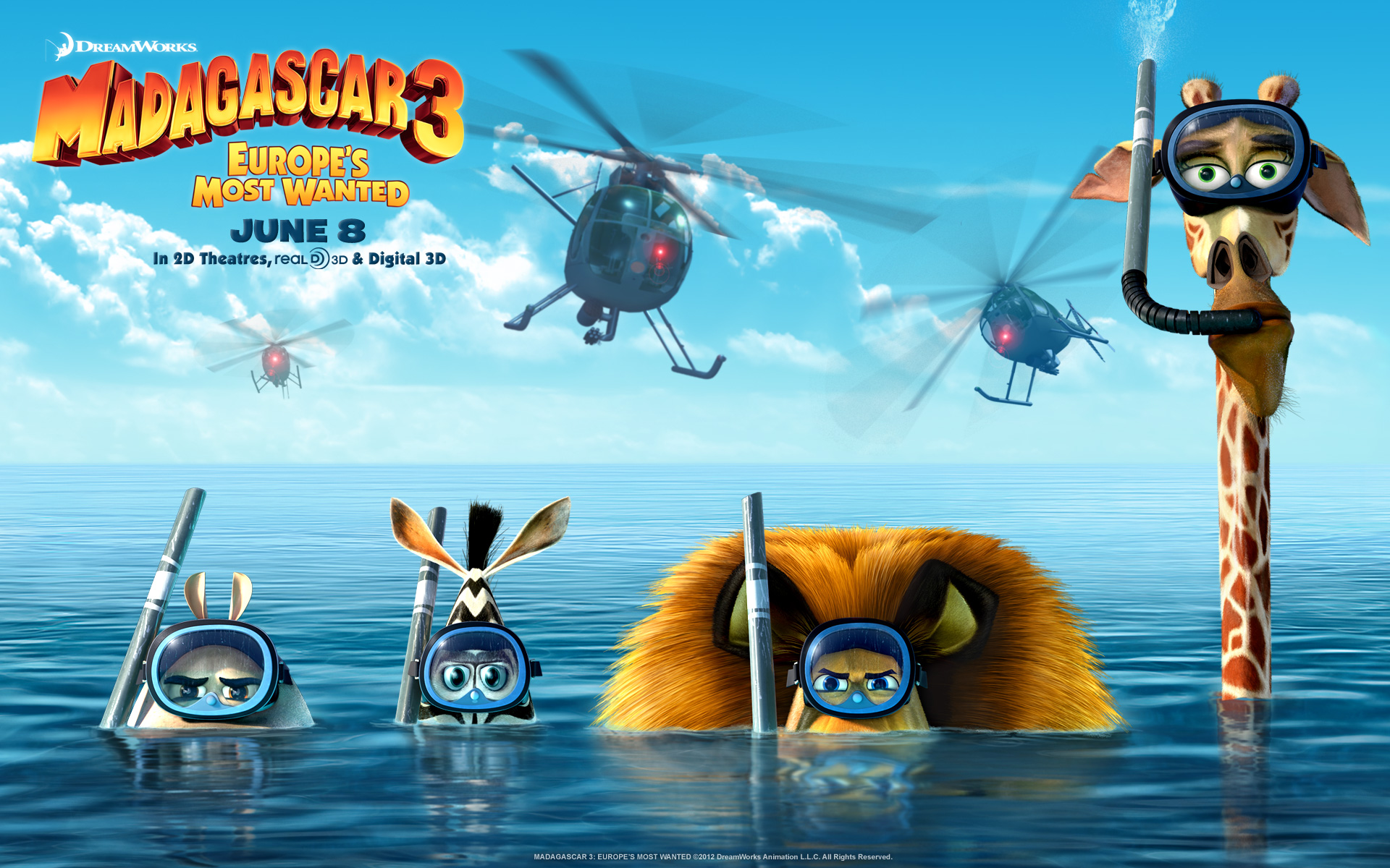 Madagascar 3 2012 Movie 1039.26 Kb