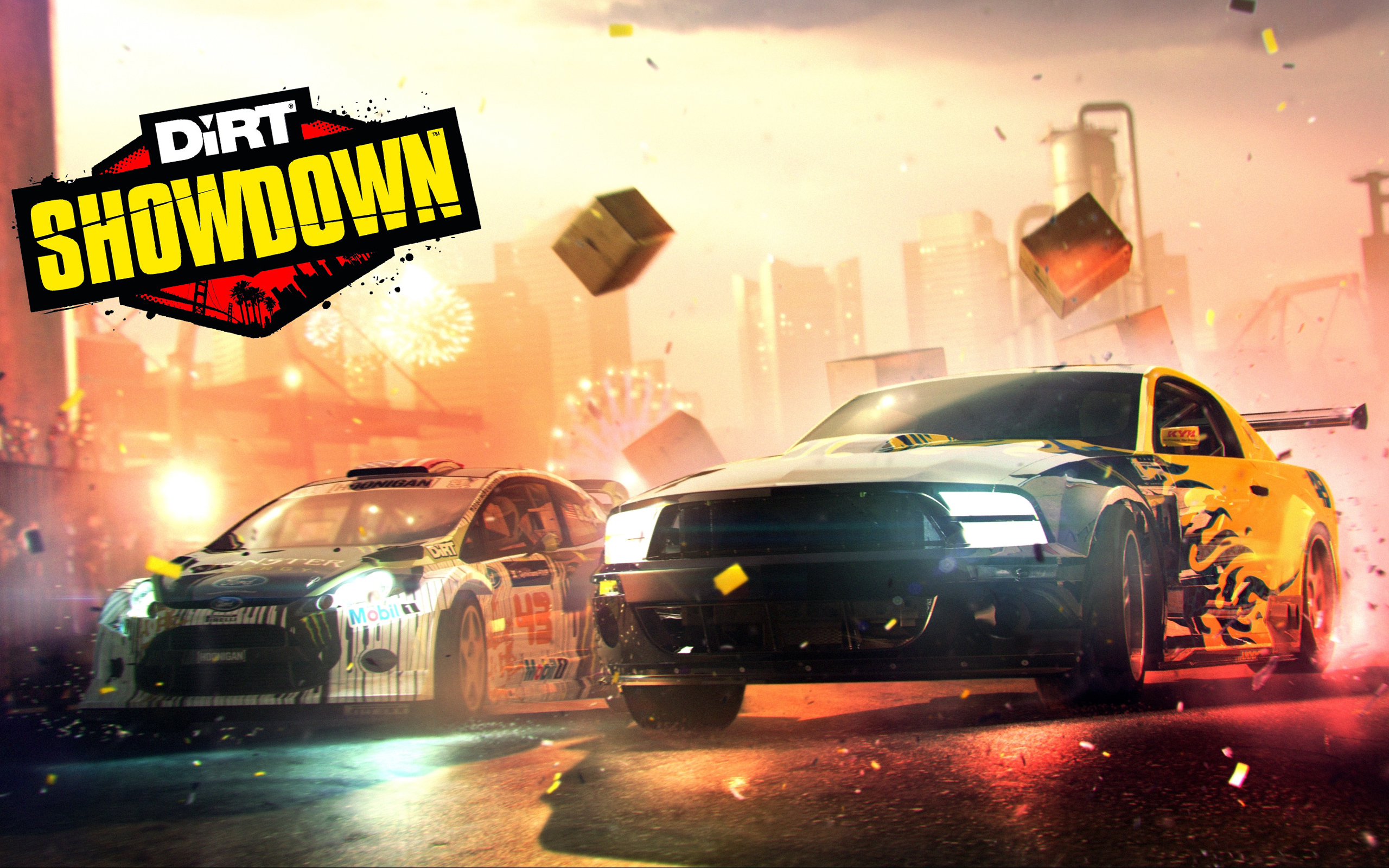 Dirt Showdown 509.36 Kb