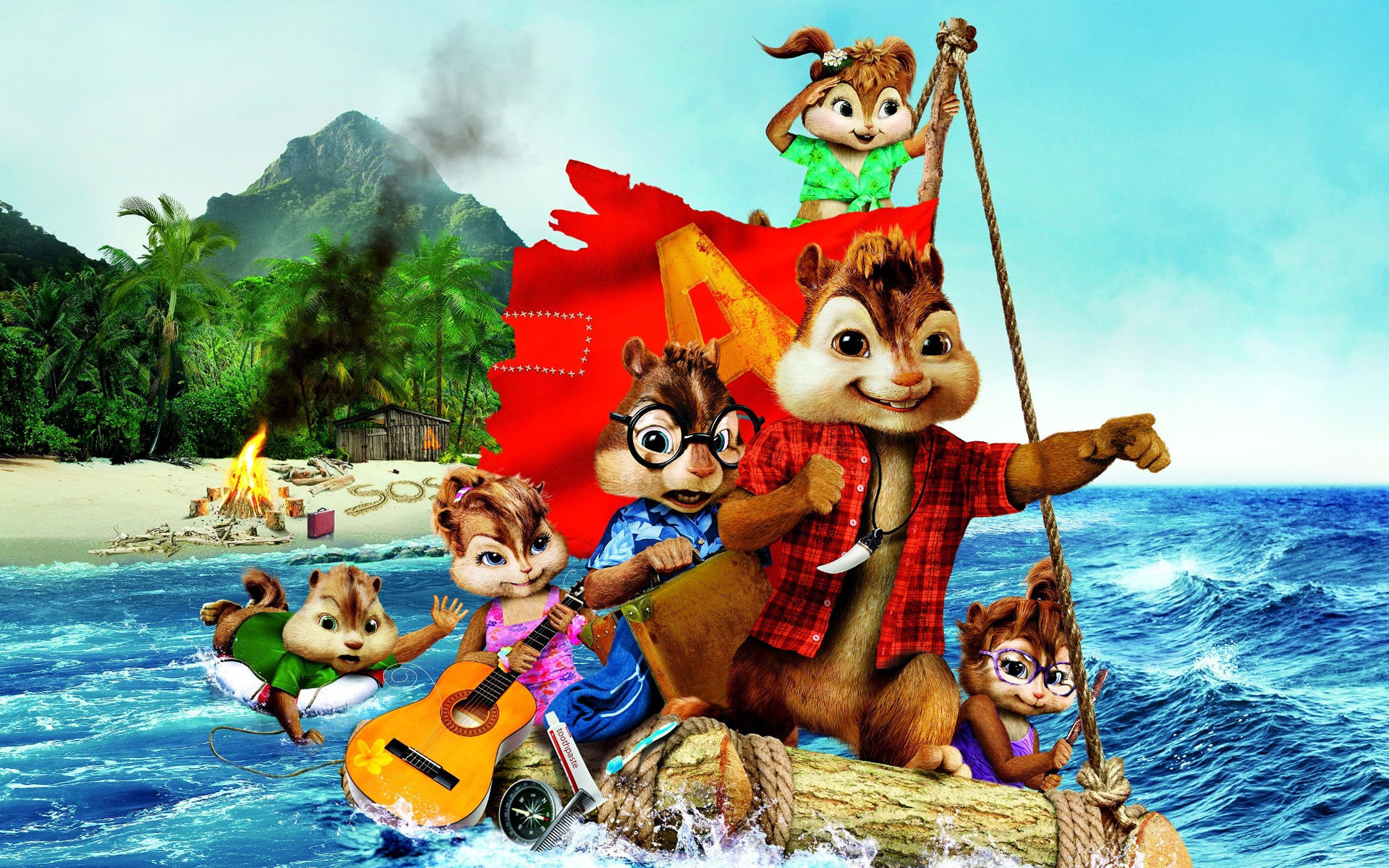 Alvin and the Chipmunks 3 2011 1378.9 Kb