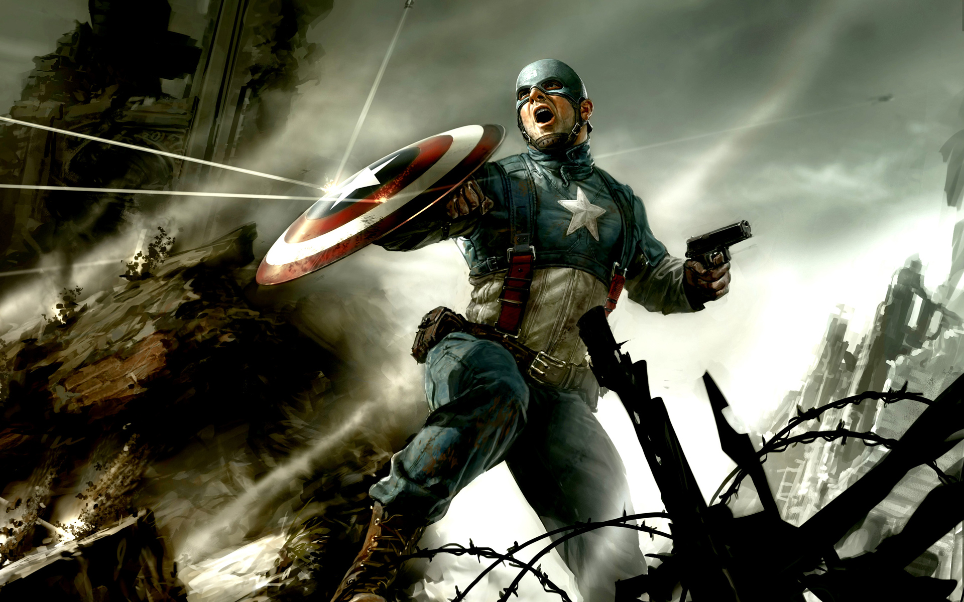 Captain America CG 1000.86 Kb
