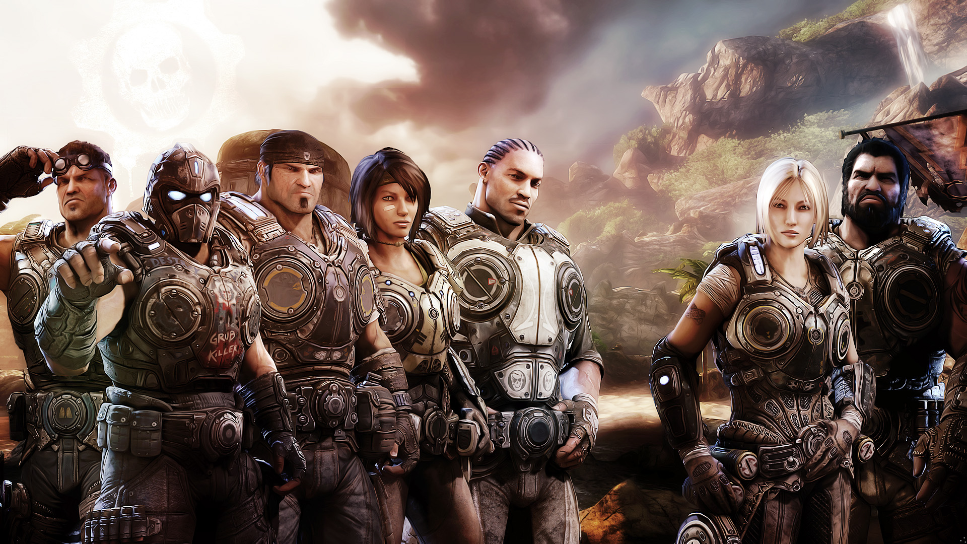 Gears of War 3 Xbox Game 425.07 Kb