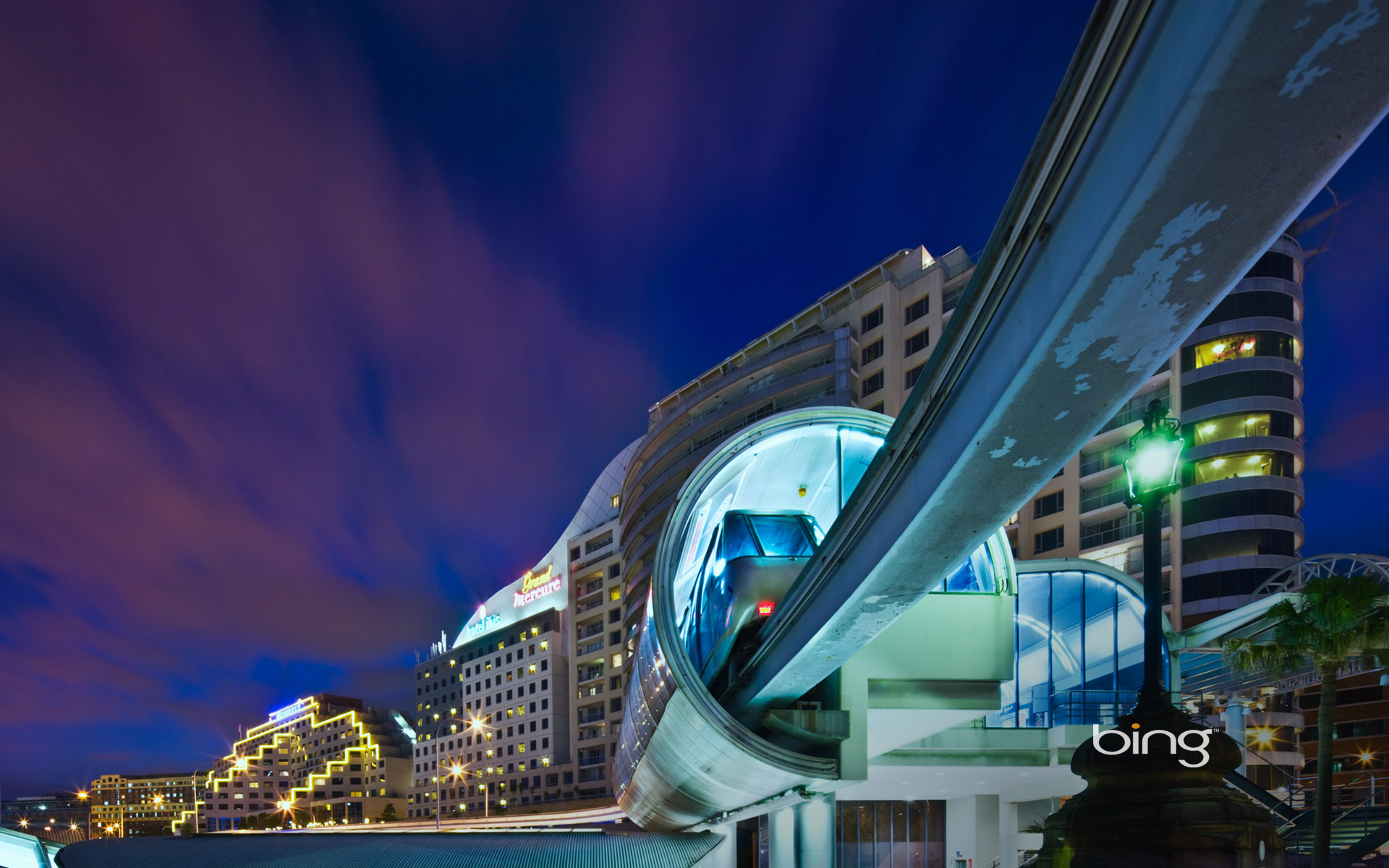 Monorail Darling Harbour Sydney