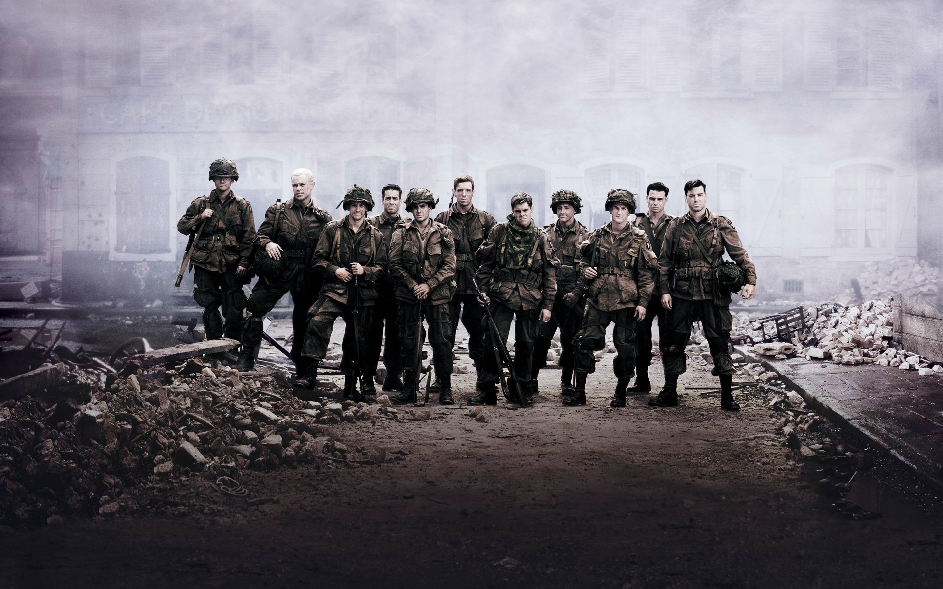 Band of Brothers Cast 873.2 Kb