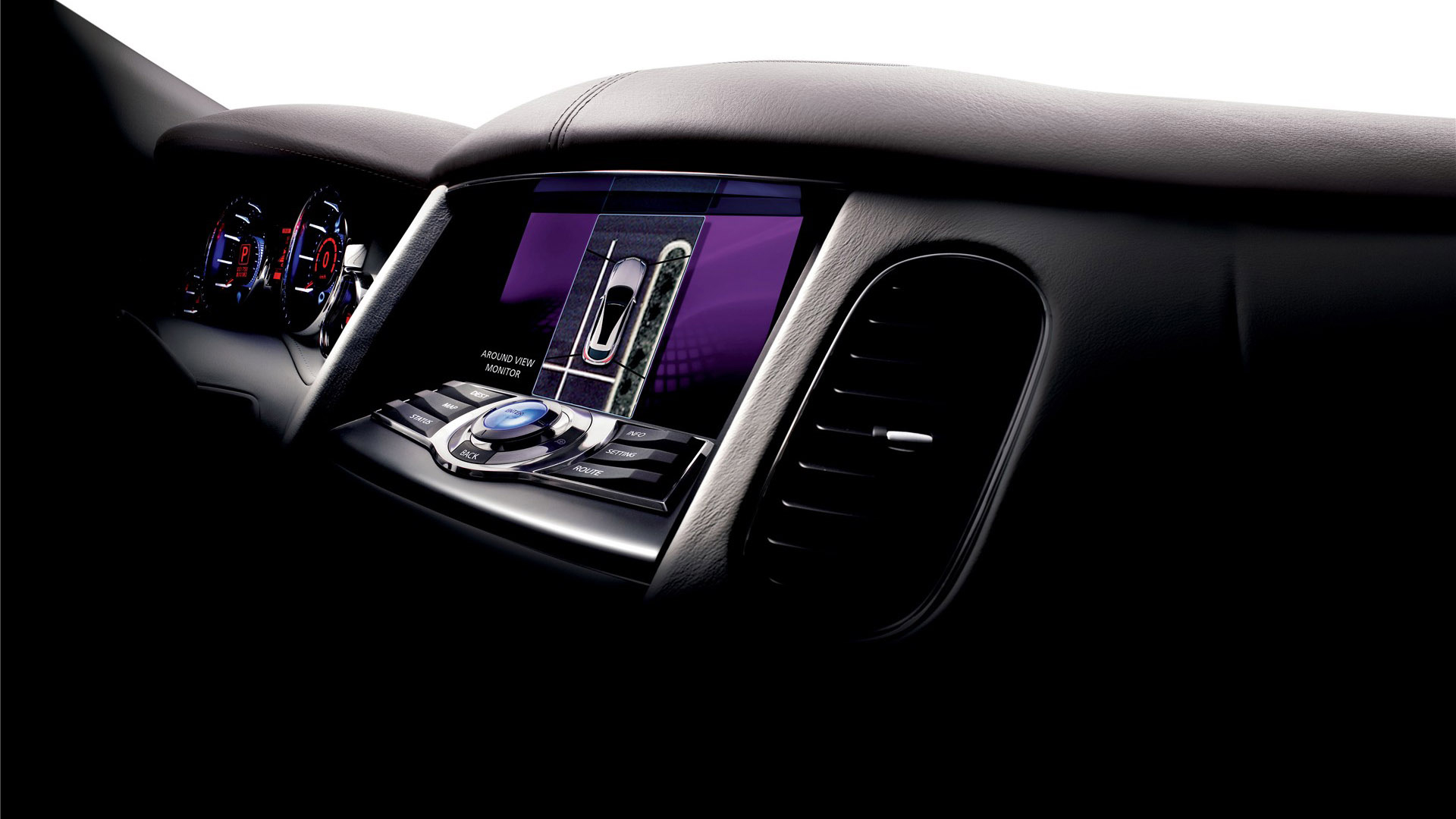 Ultra Modern Car Interior