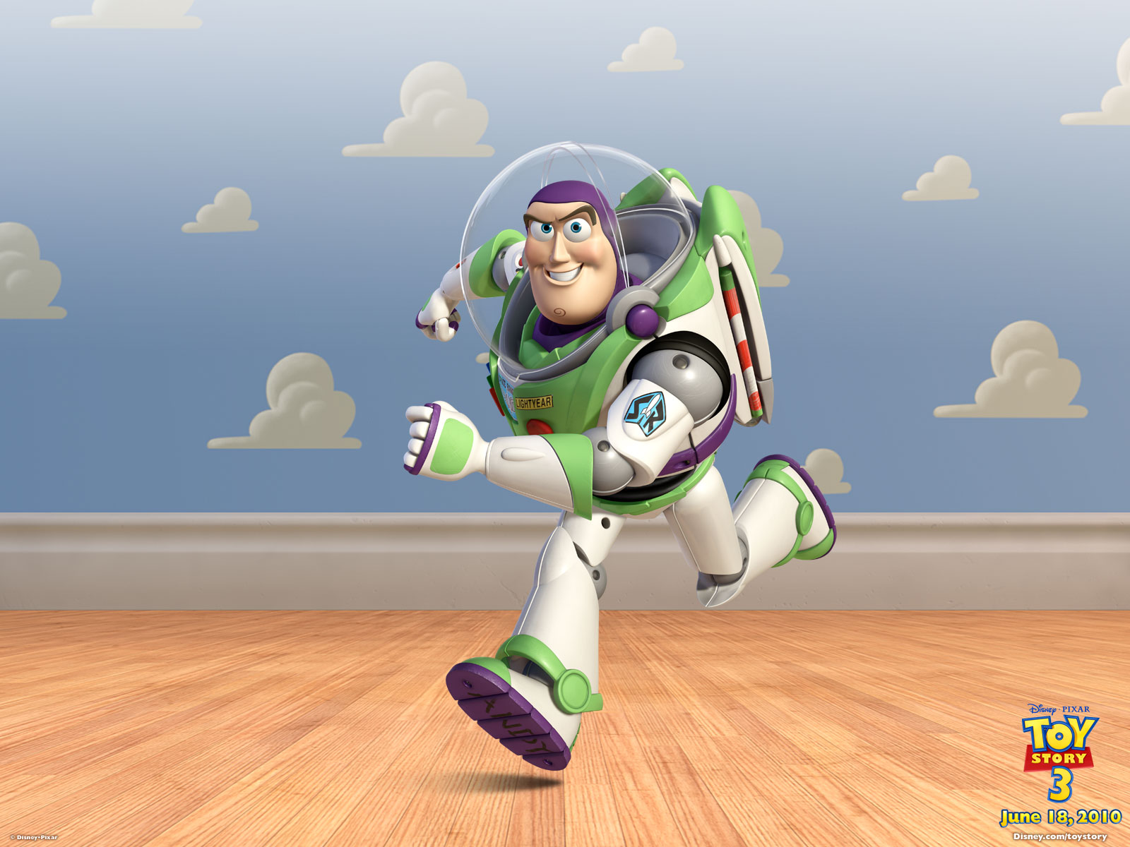 Buzz Lightyear in Toy Story 3