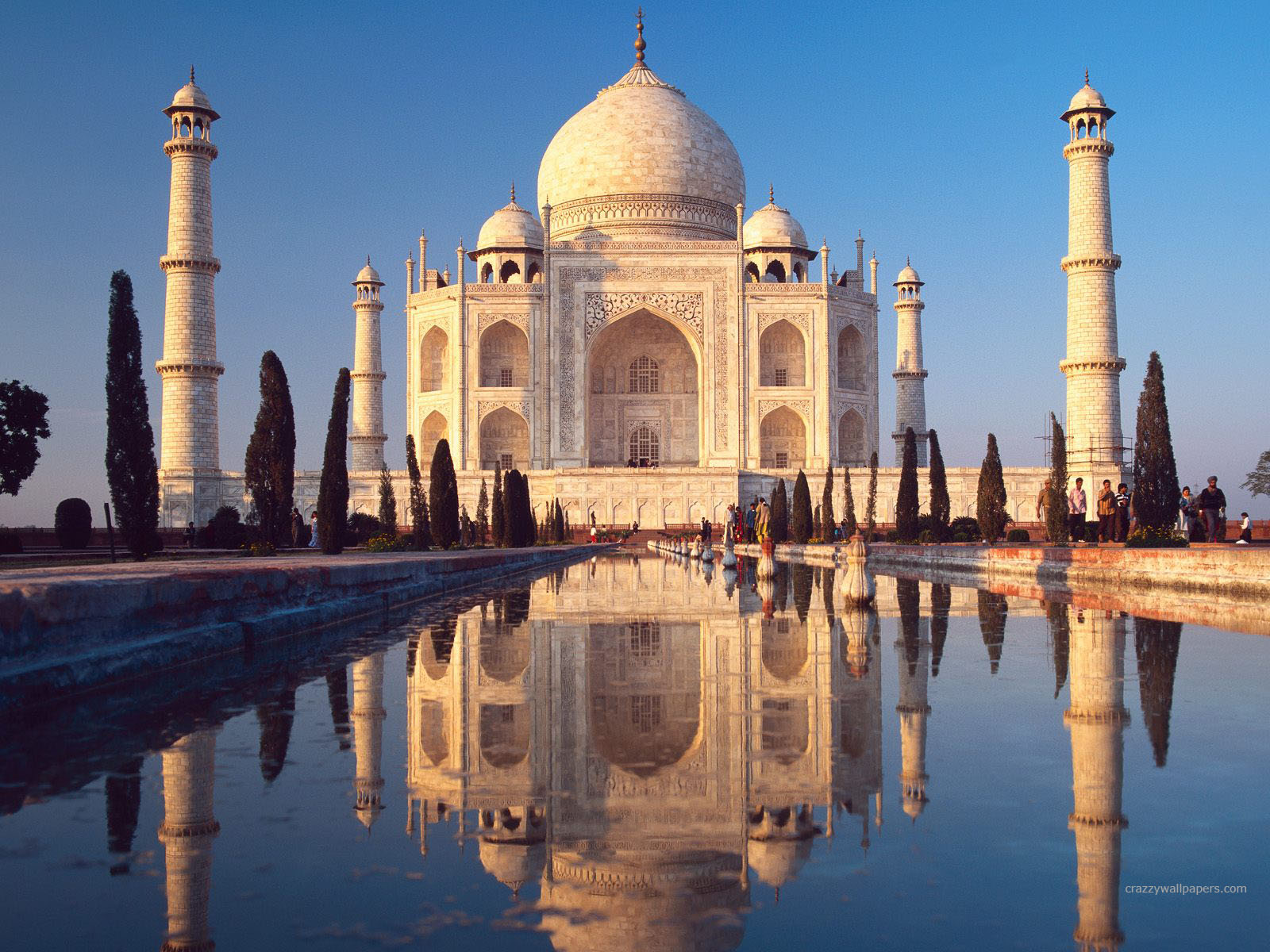 Taj Mahal Agra India HD 219.21 Kb
