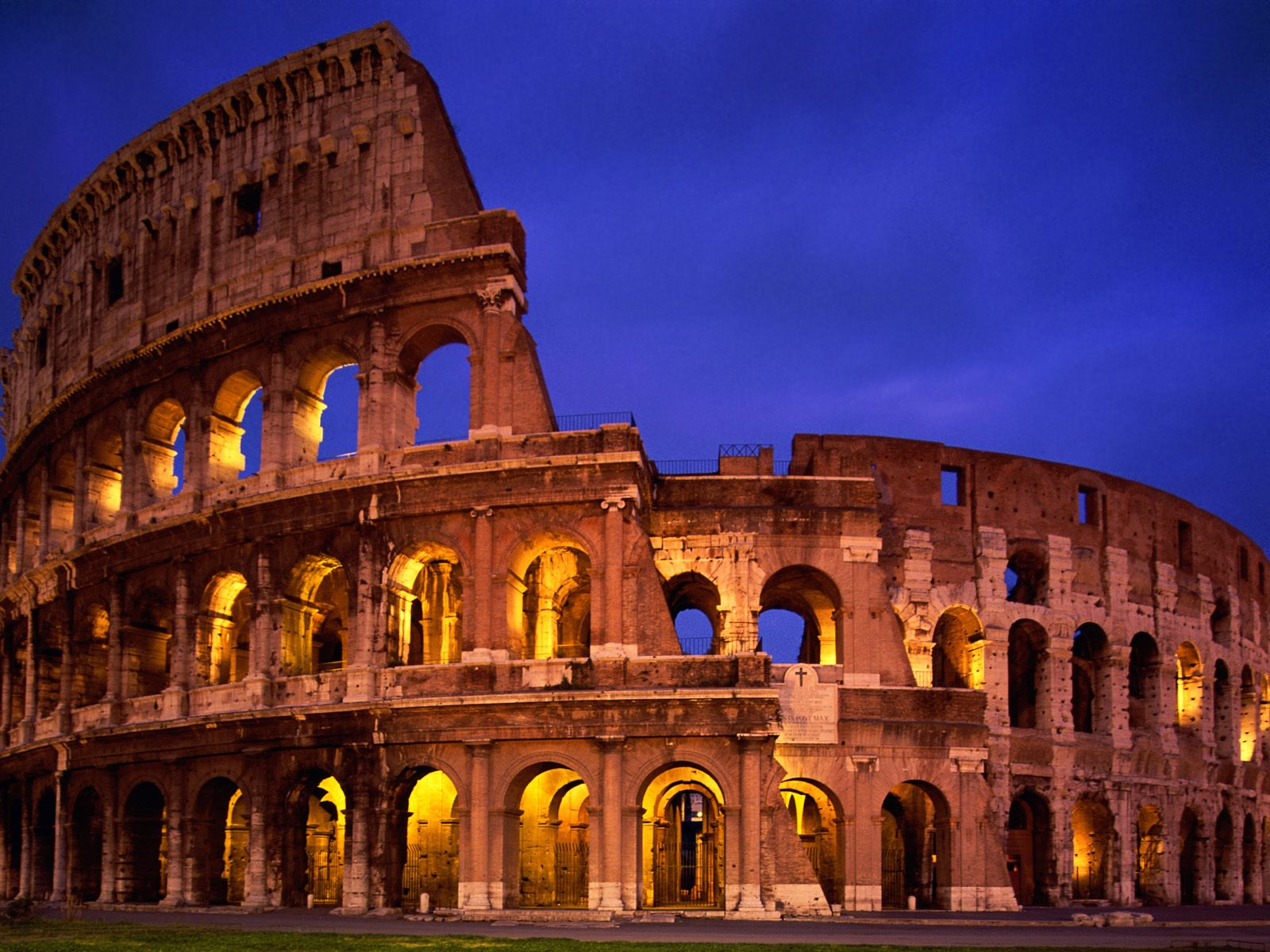 The Colosseum Rome Italy 1449.79 Kb