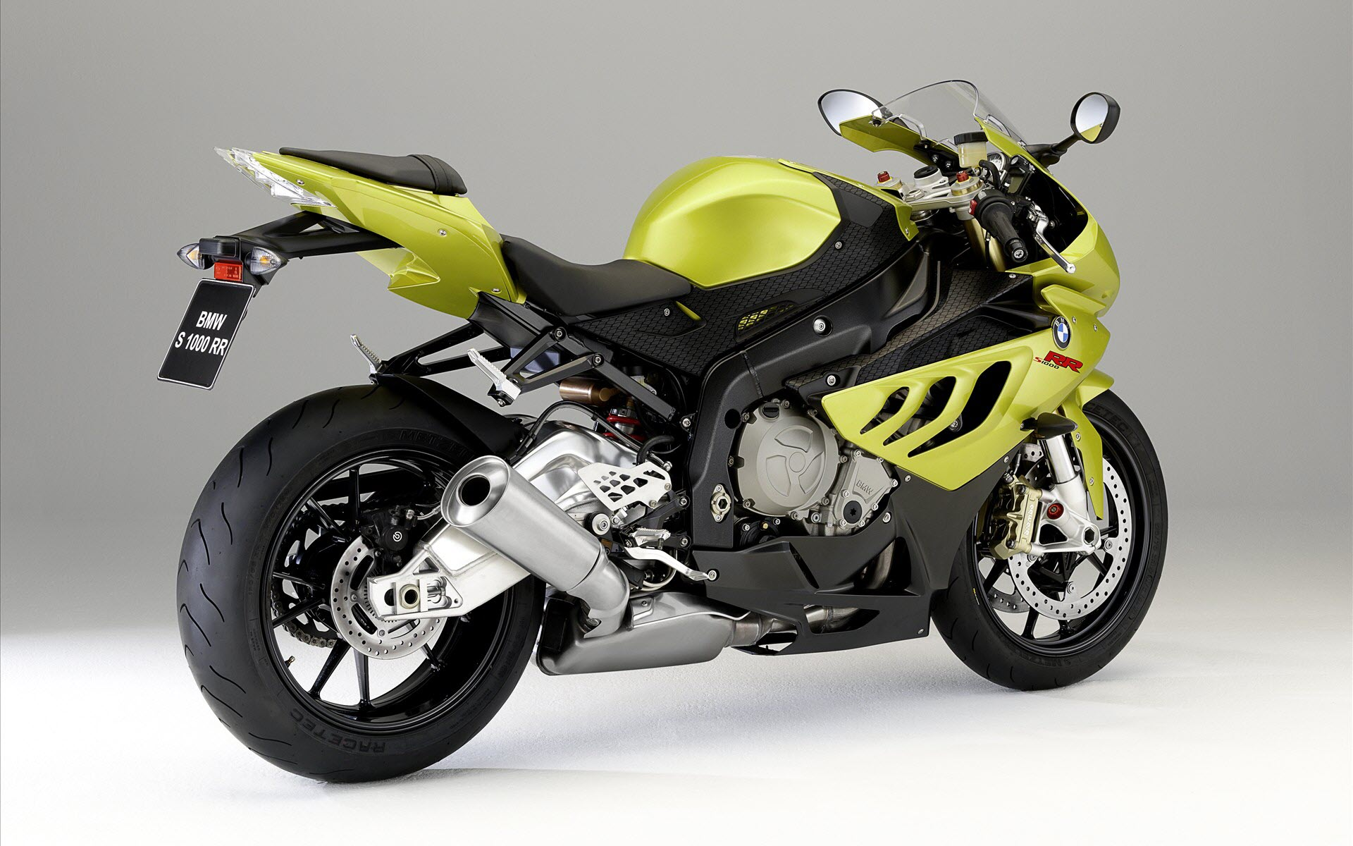 BMW 1000 RR Yellow 248.43 Kb