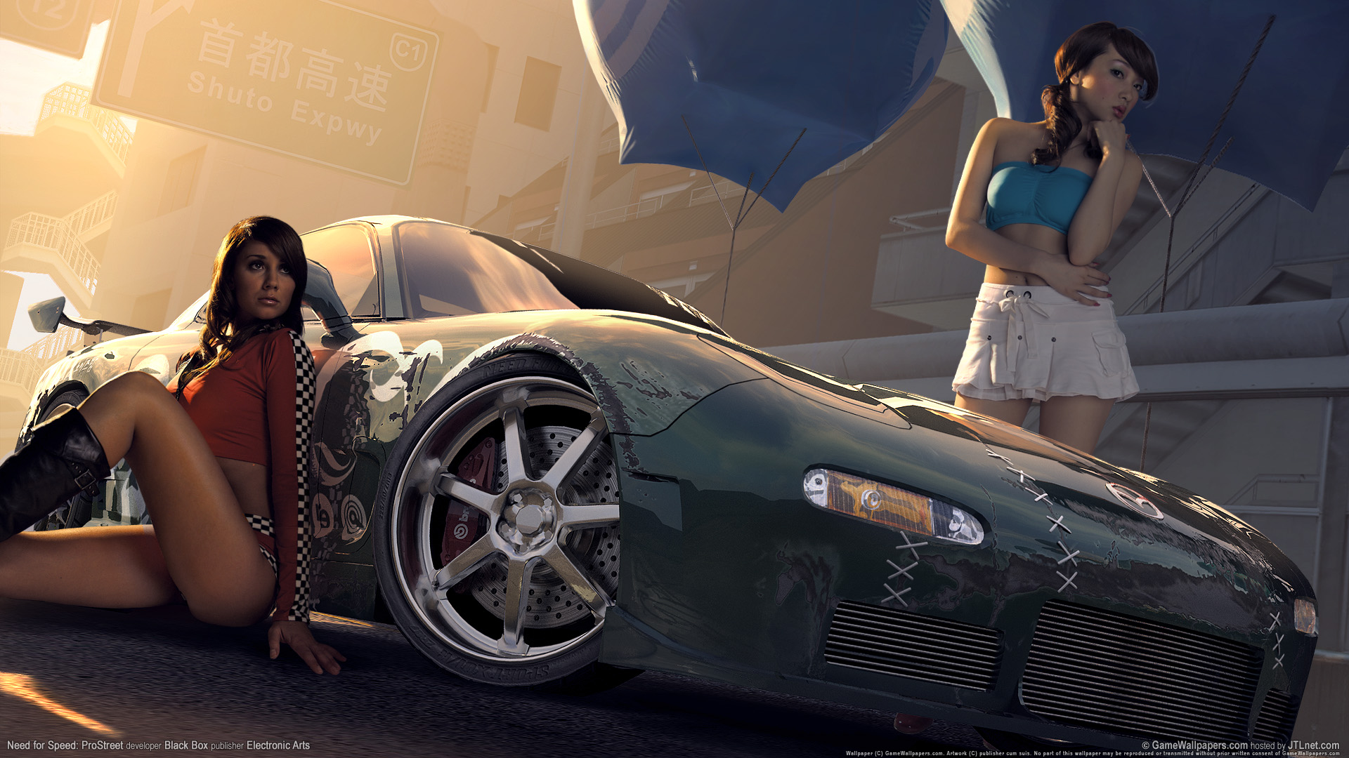 Need for speed prostreet Girls 5