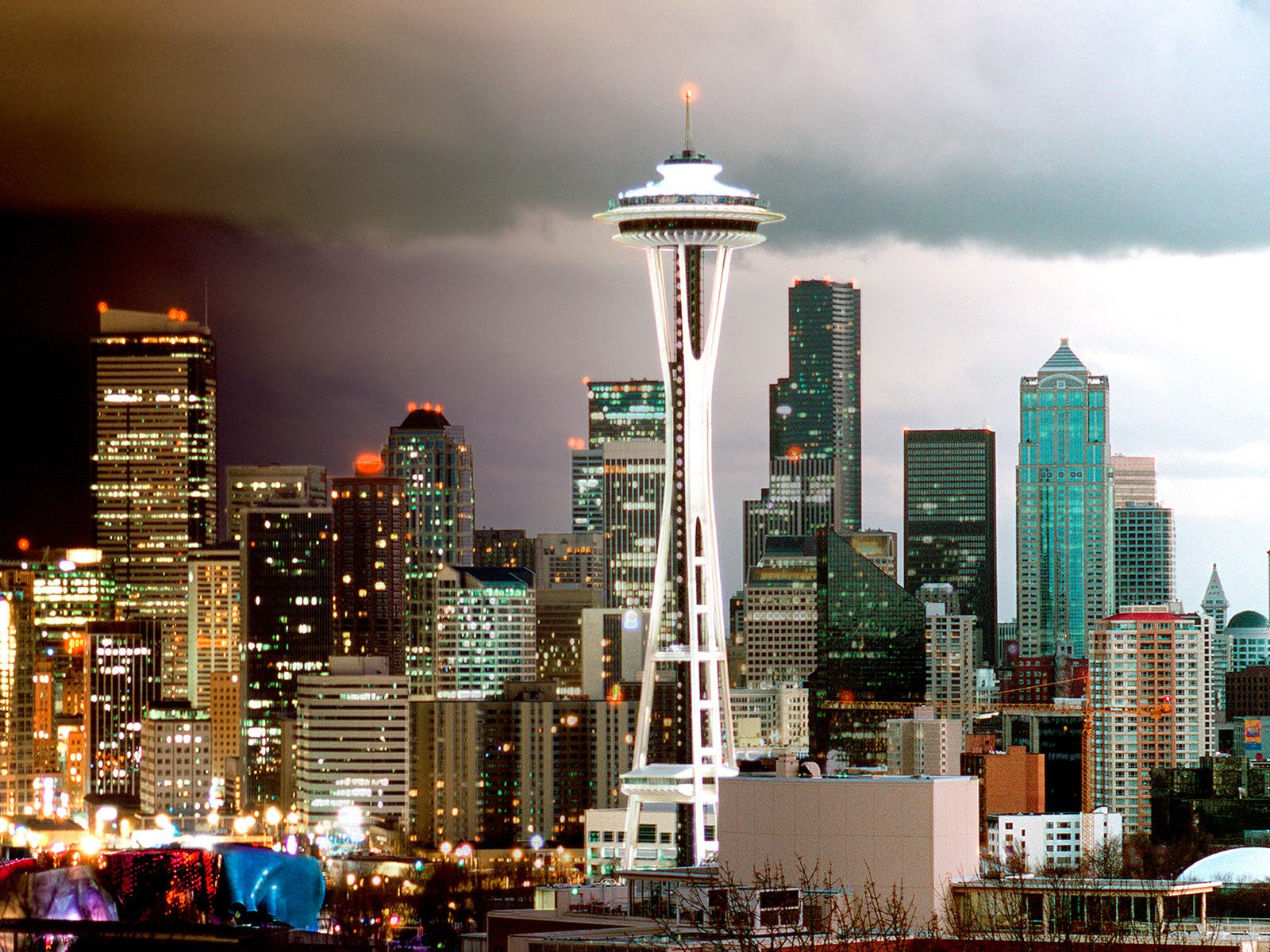 Seattle Skyline, Washington 522.91 Kb
