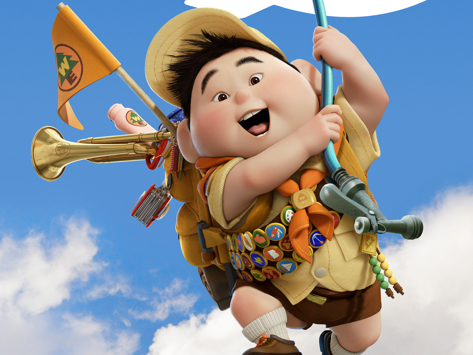 Russell Boy in Pixar's UP 306.52 Kb