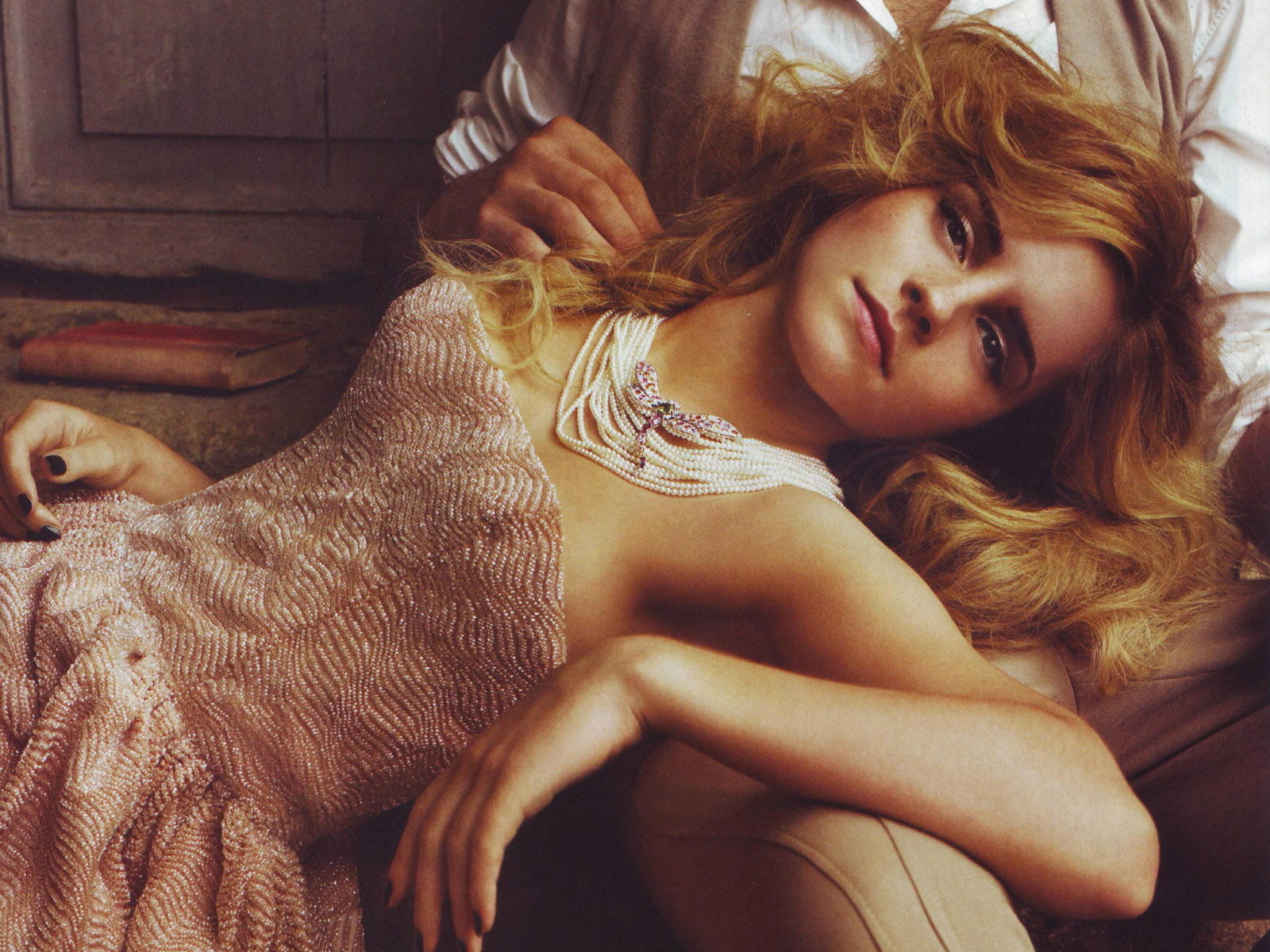 Emma Watson at Italian Vogue Magazine