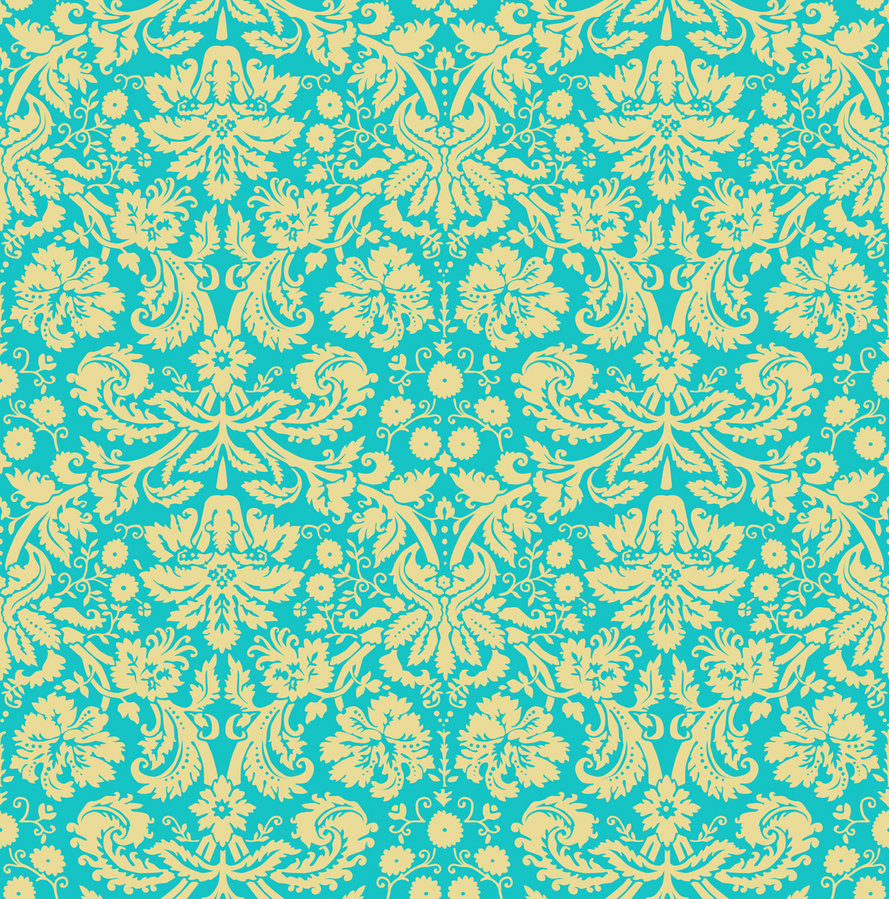 Yellow Blue Background Pattern