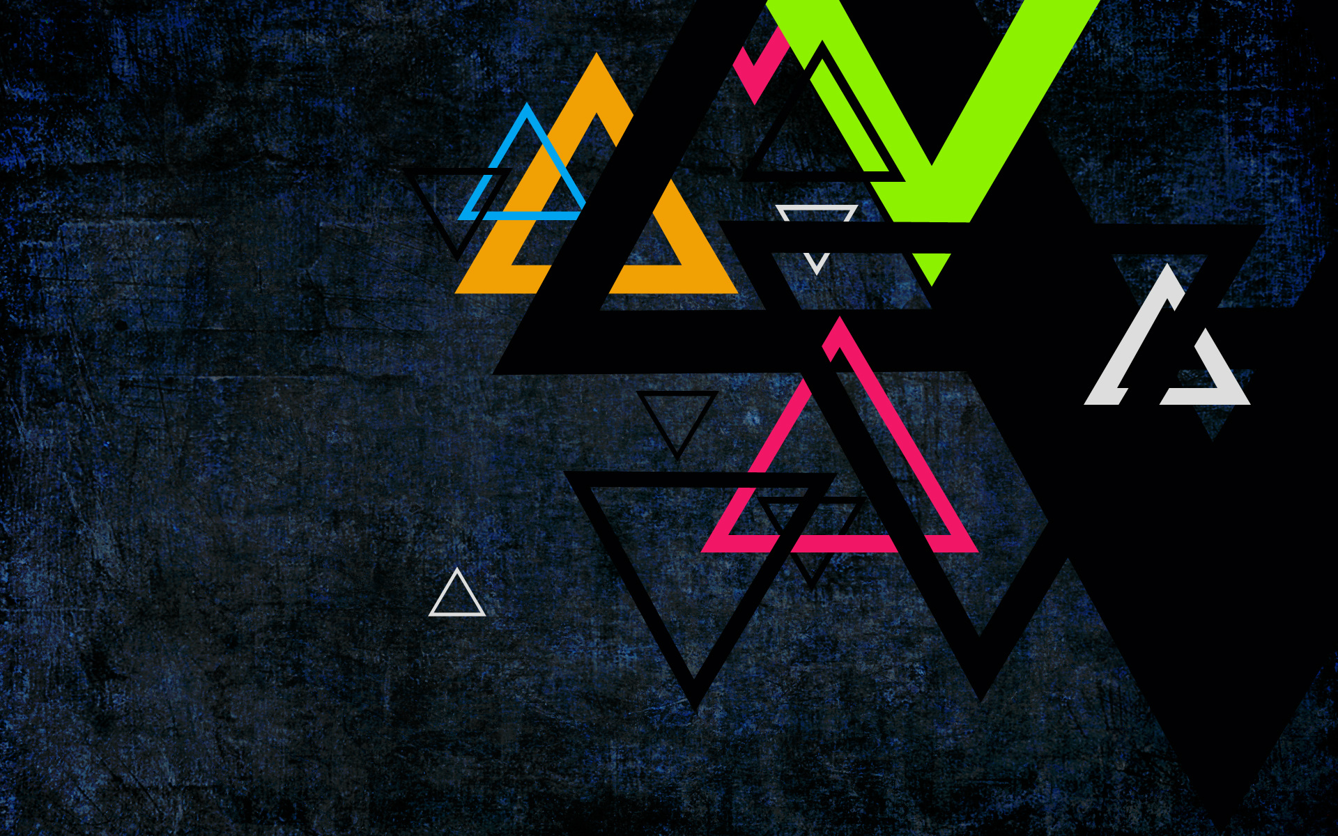 Geometrical Wallpapers with Triangles  242.51 Kb