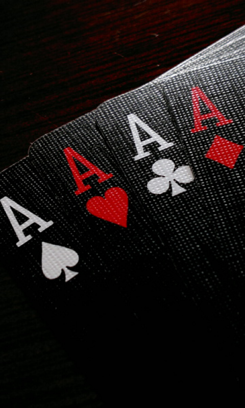 Ace Cards Wallpaper HD 417.21 Kb