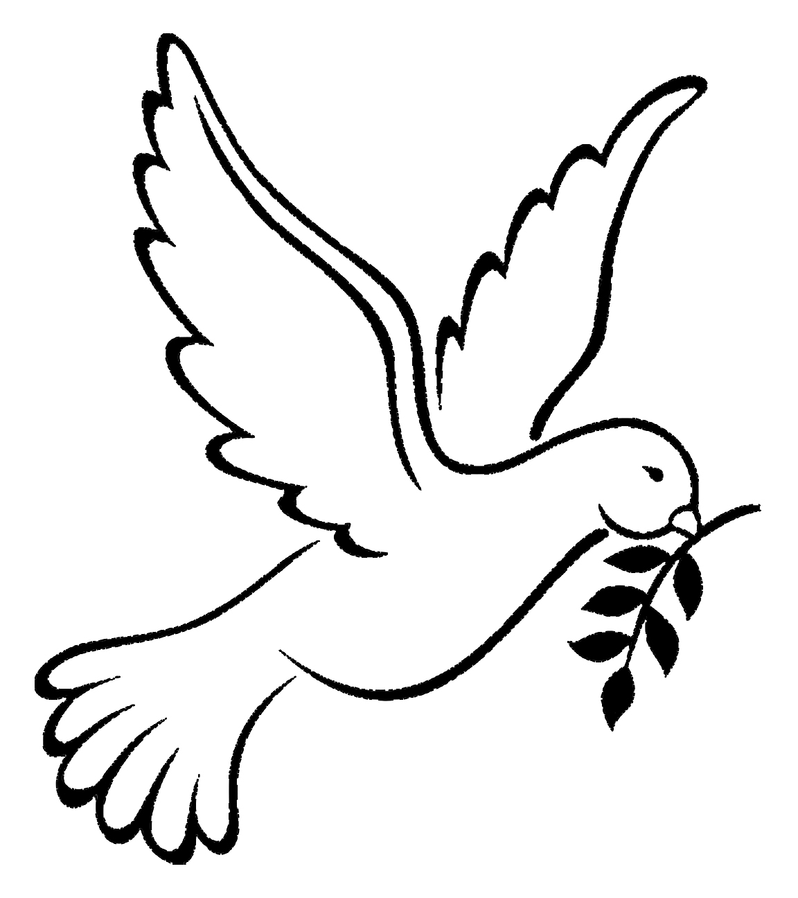 Sign of Peace, Dove with a Branch