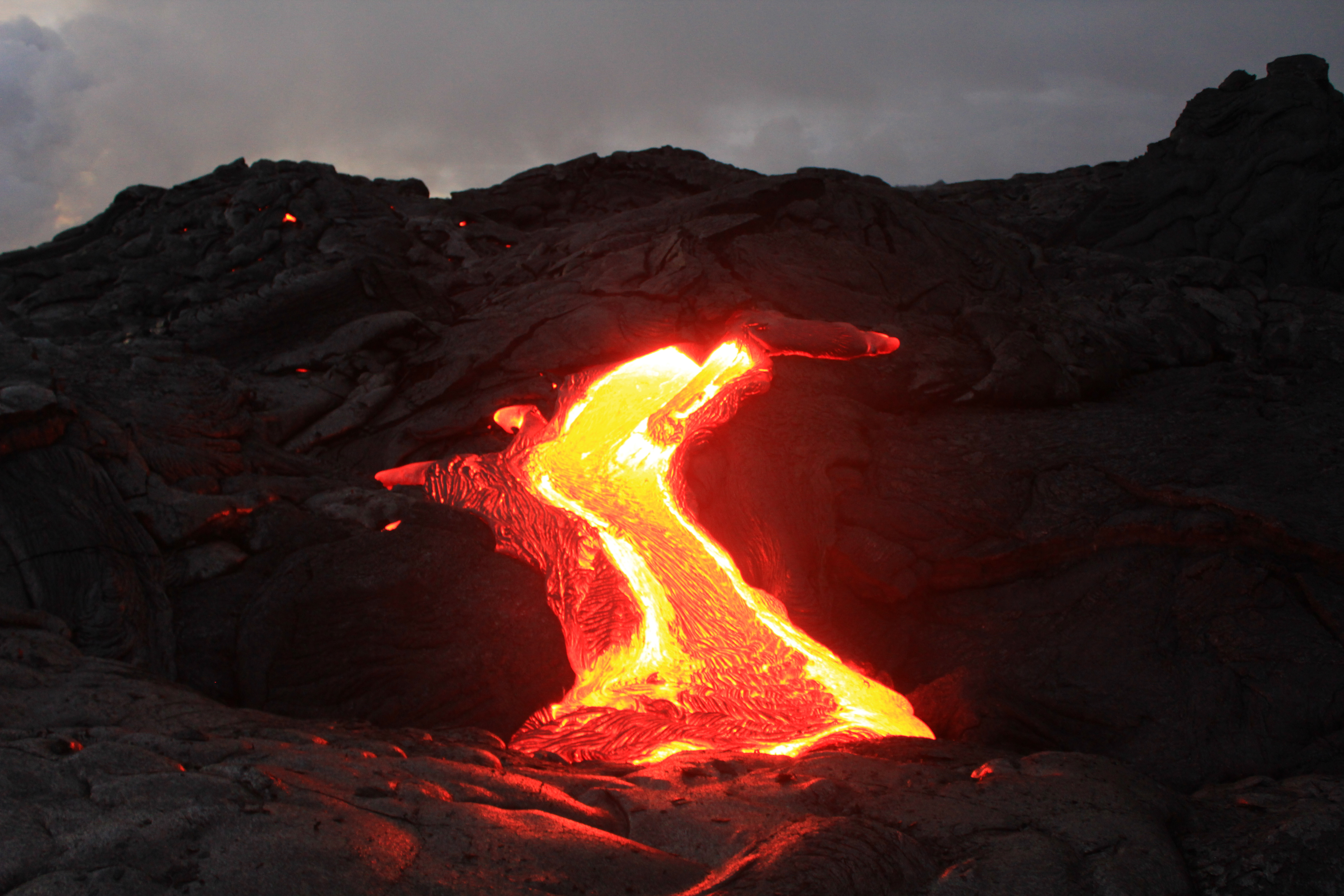 Lava Fire Flow