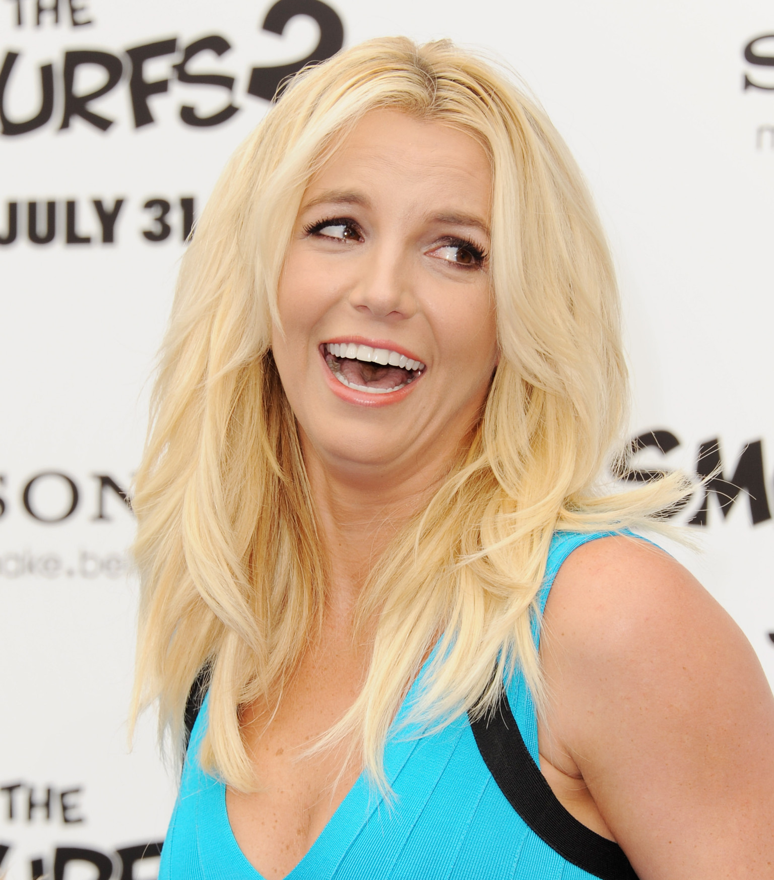 Britney Spears Funny Look