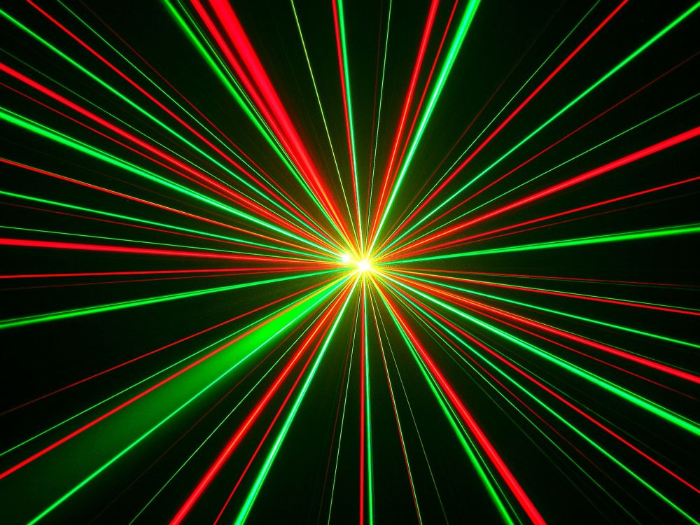 Red and Green Laser 650.32 Kb