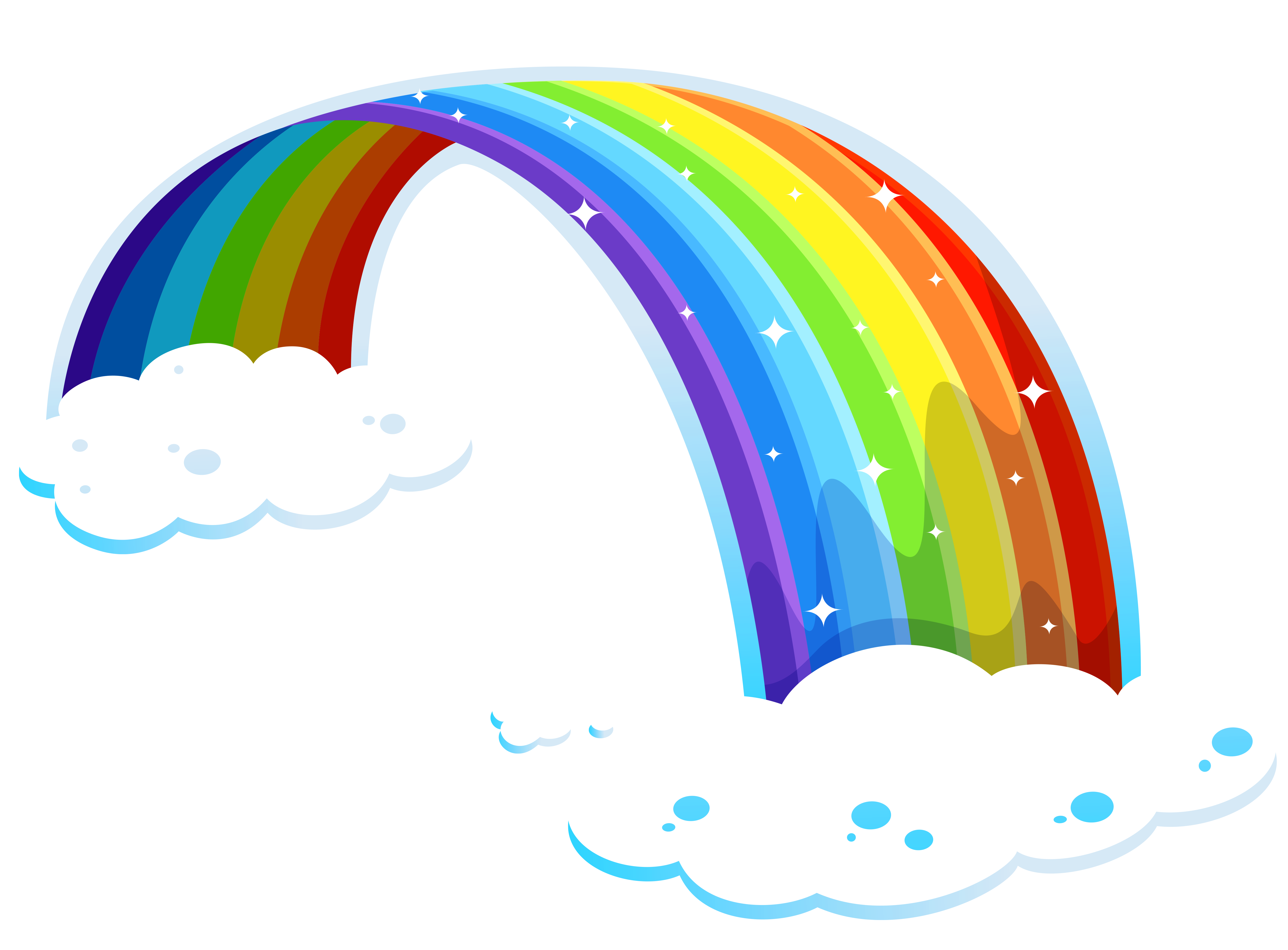 Rainbow on a Cloud Wallpaper
