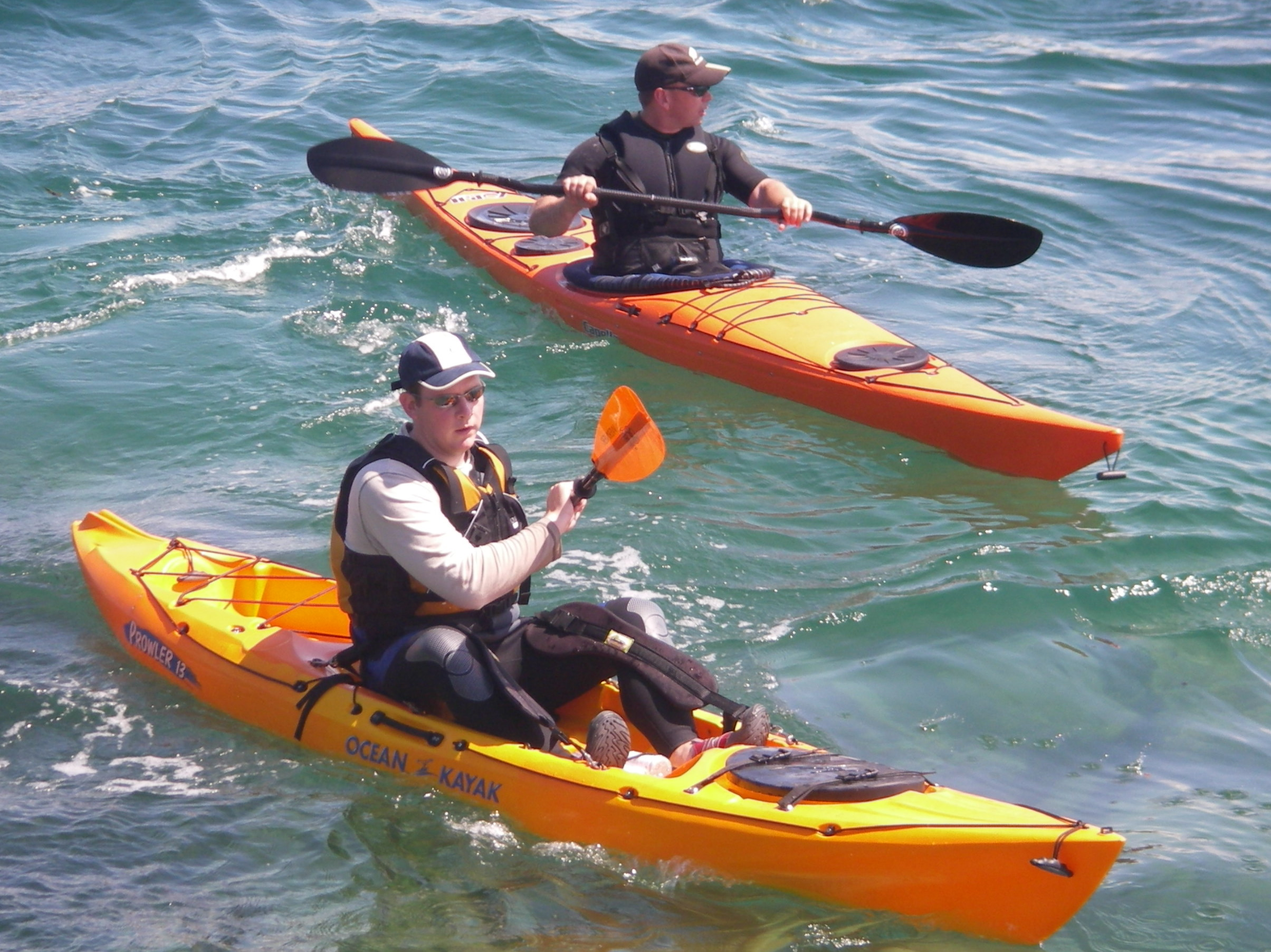 Kayak Sport Competition