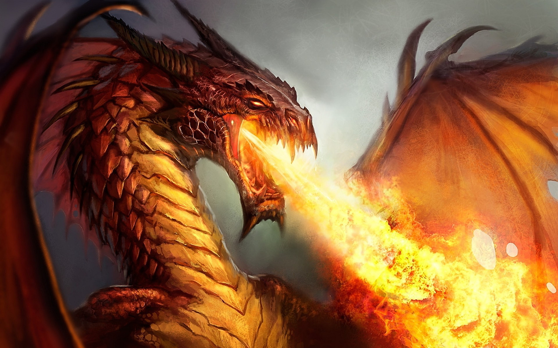Dragon Breathing Fire 713.66 Kb