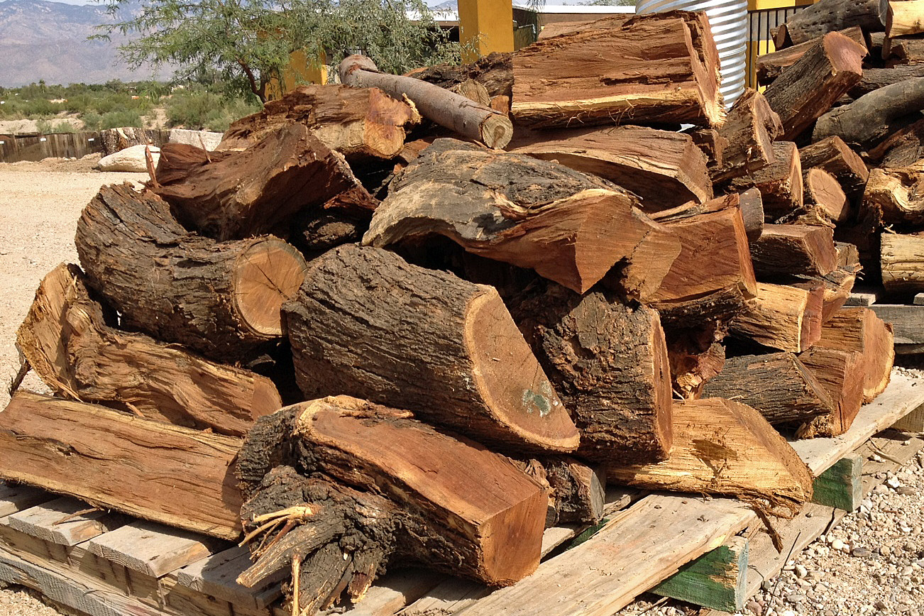 Big Firewood Logs