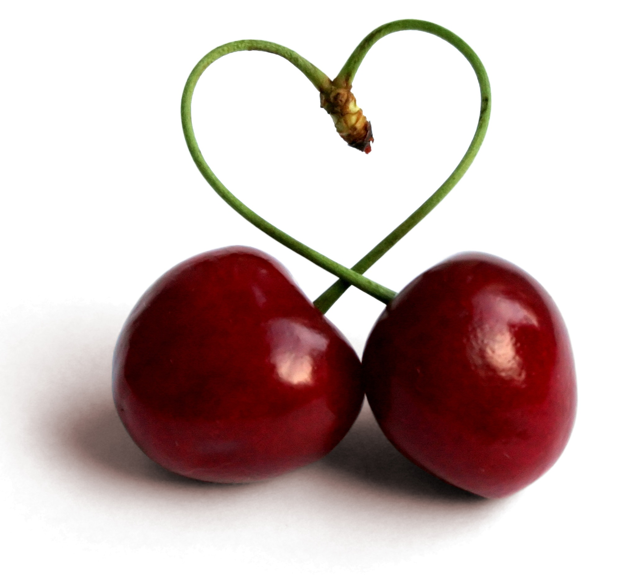 Cherry Heart Image 163.64 Kb