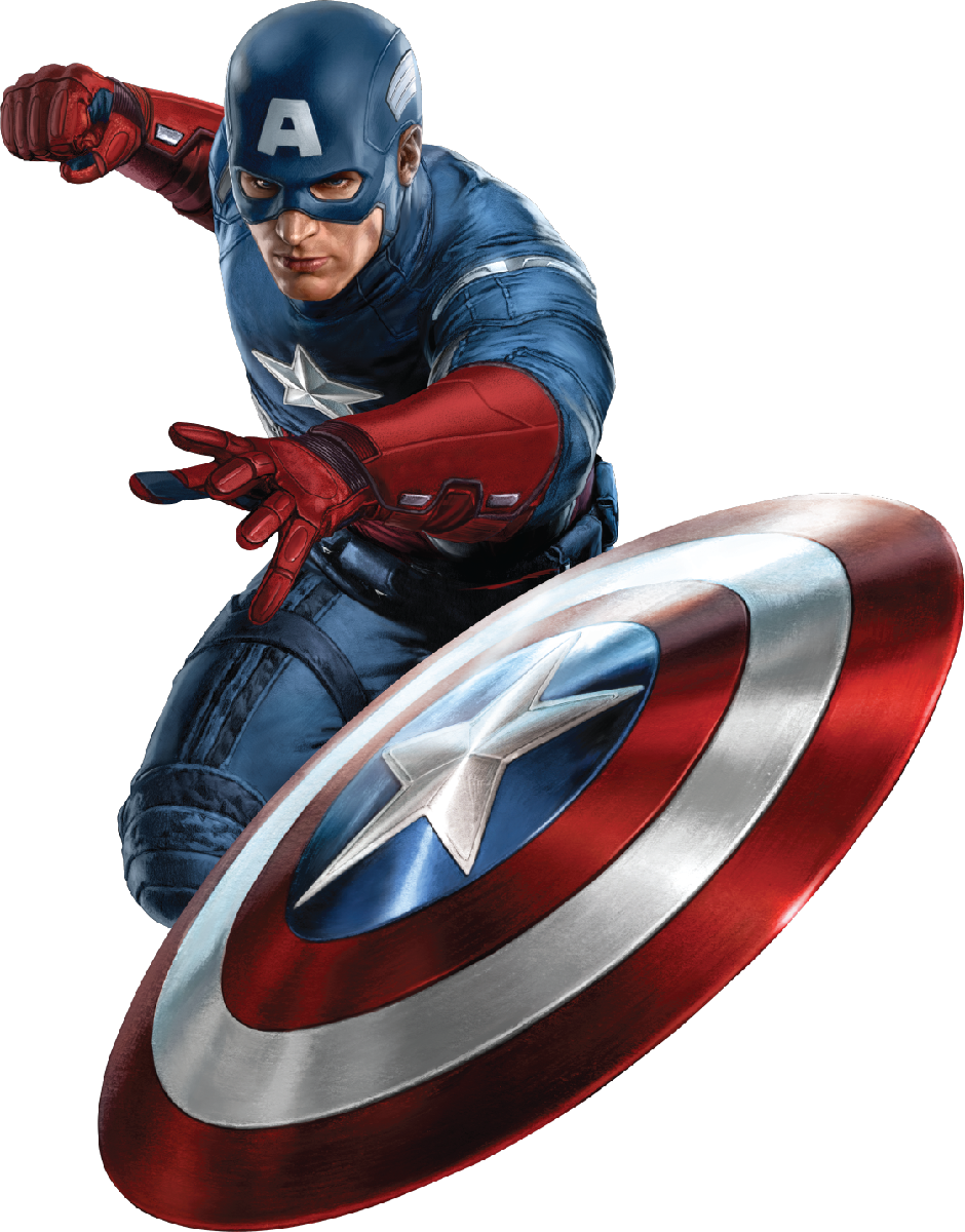 Captain America Shield Thrown at Foes 1000.86 Kb