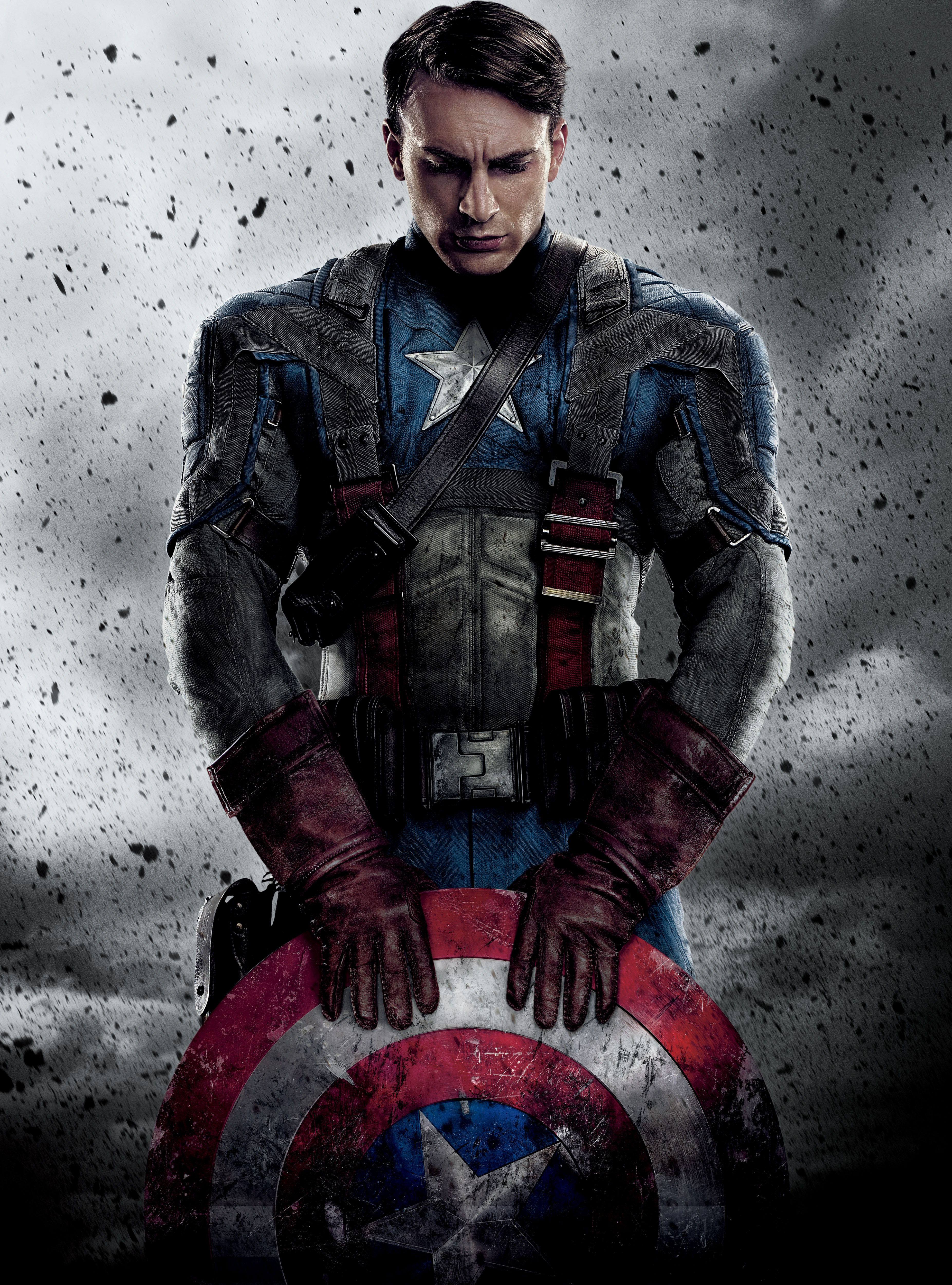 Captain America Chris Evans 1000.86 Kb