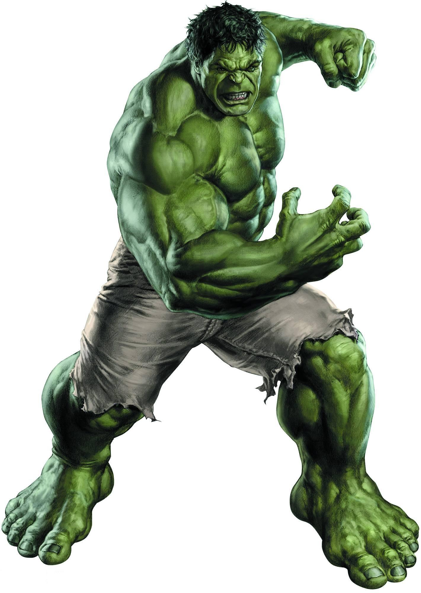 Hulk Green-Skinned Monster