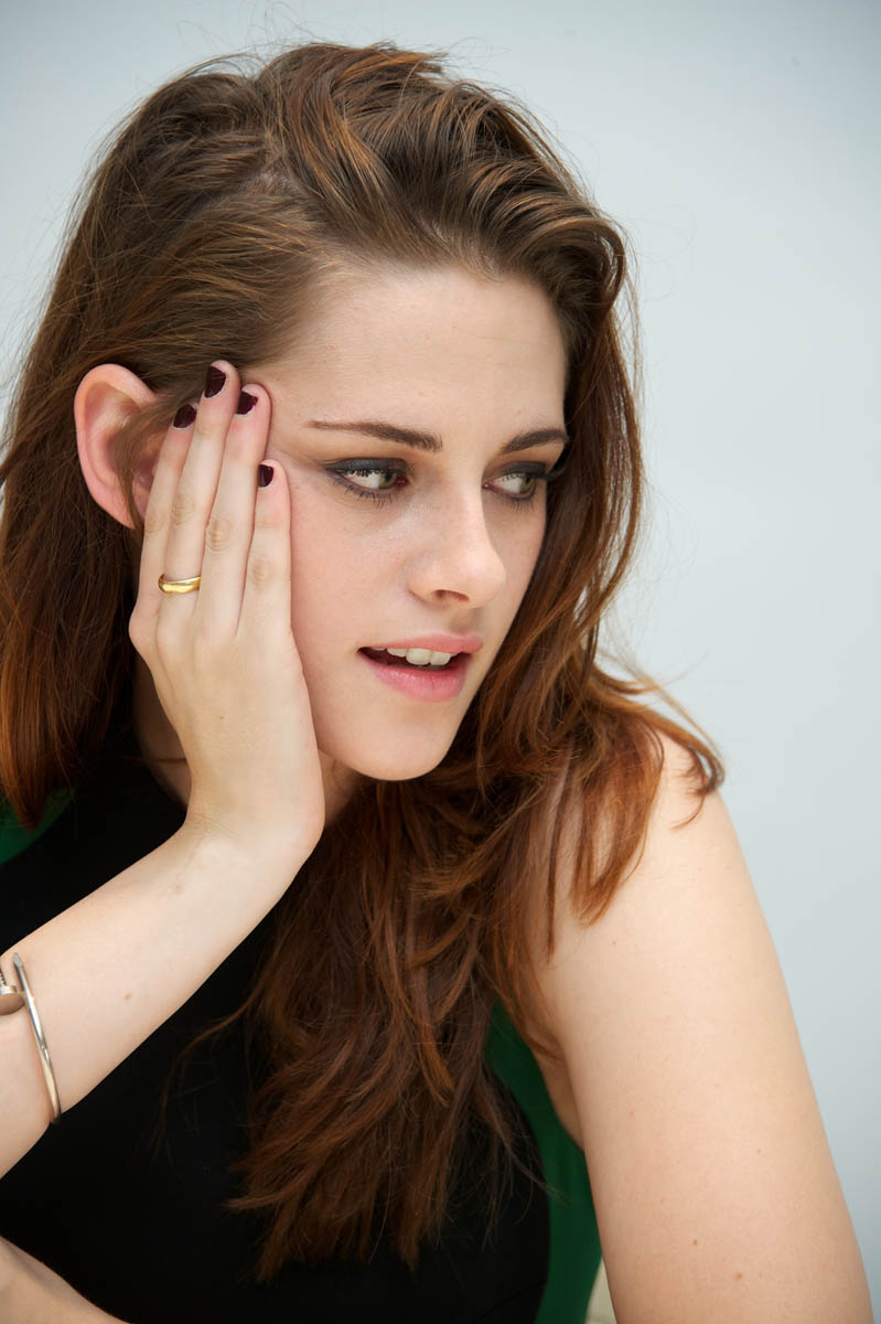 Thoughtful Kristen Stewart