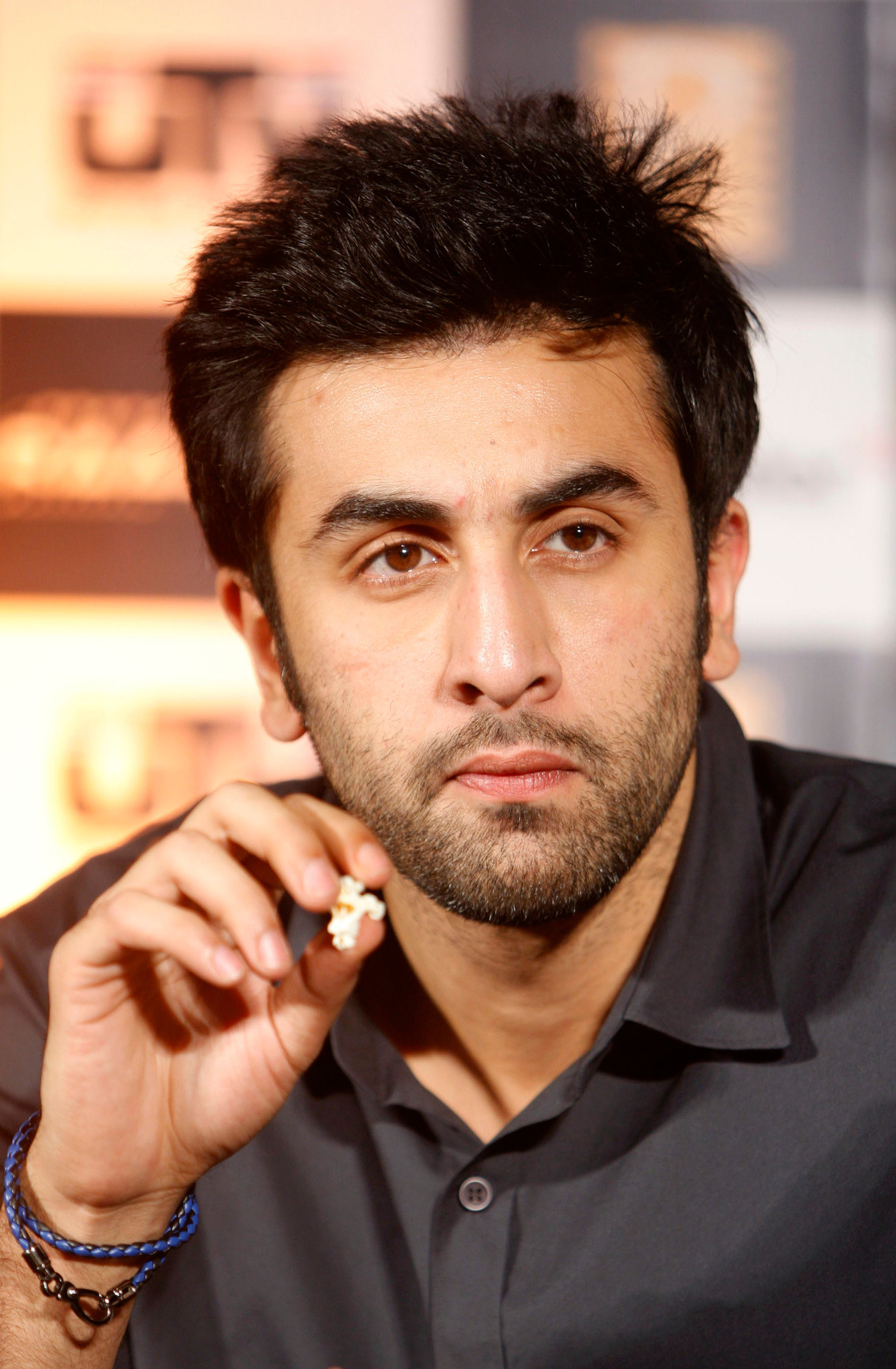 Ranbir Kapoor and Pop Corn